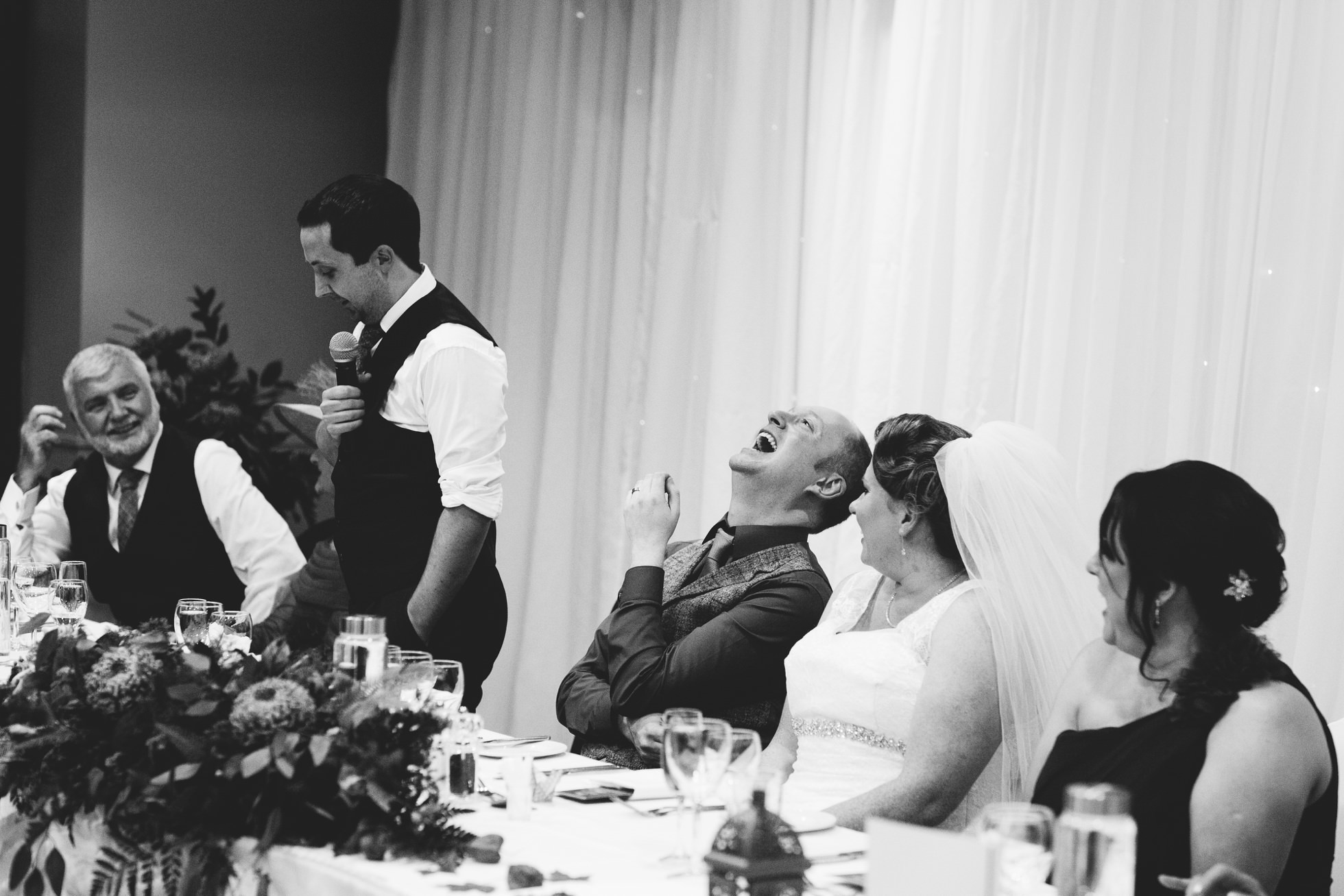 wedding photographer northern ireland, speeches