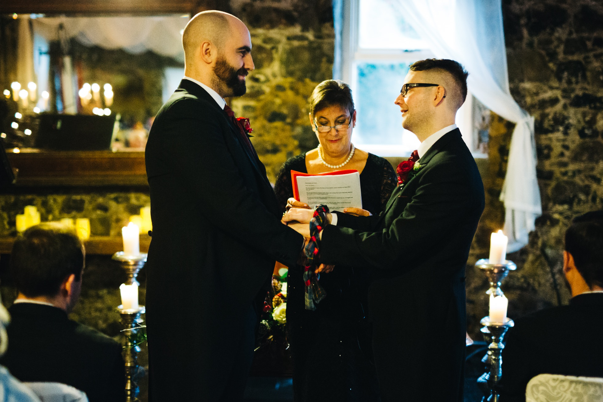 same sex wedding photography northern ireland, humanist ceremony