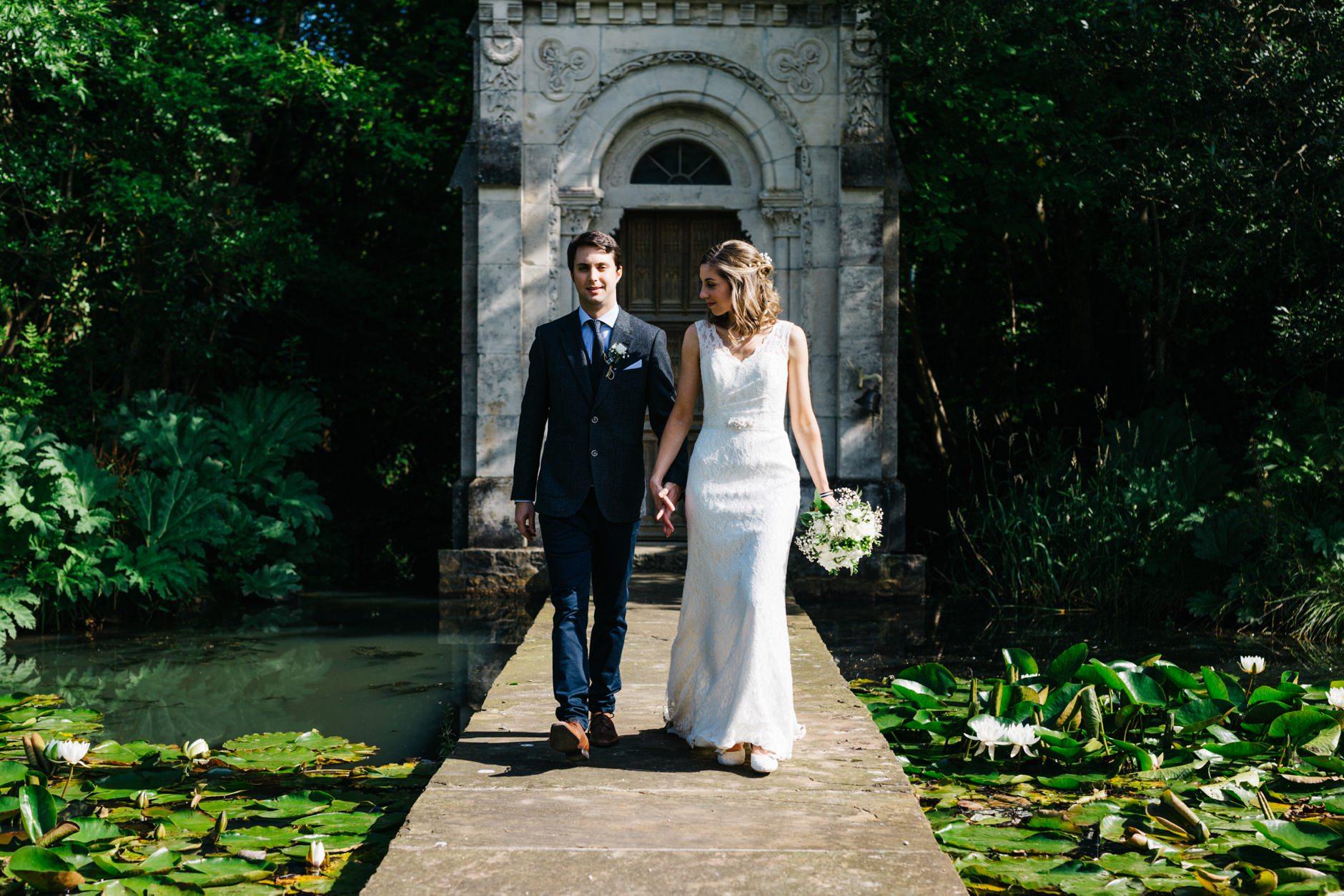 wedding photographer ireland village at lyons