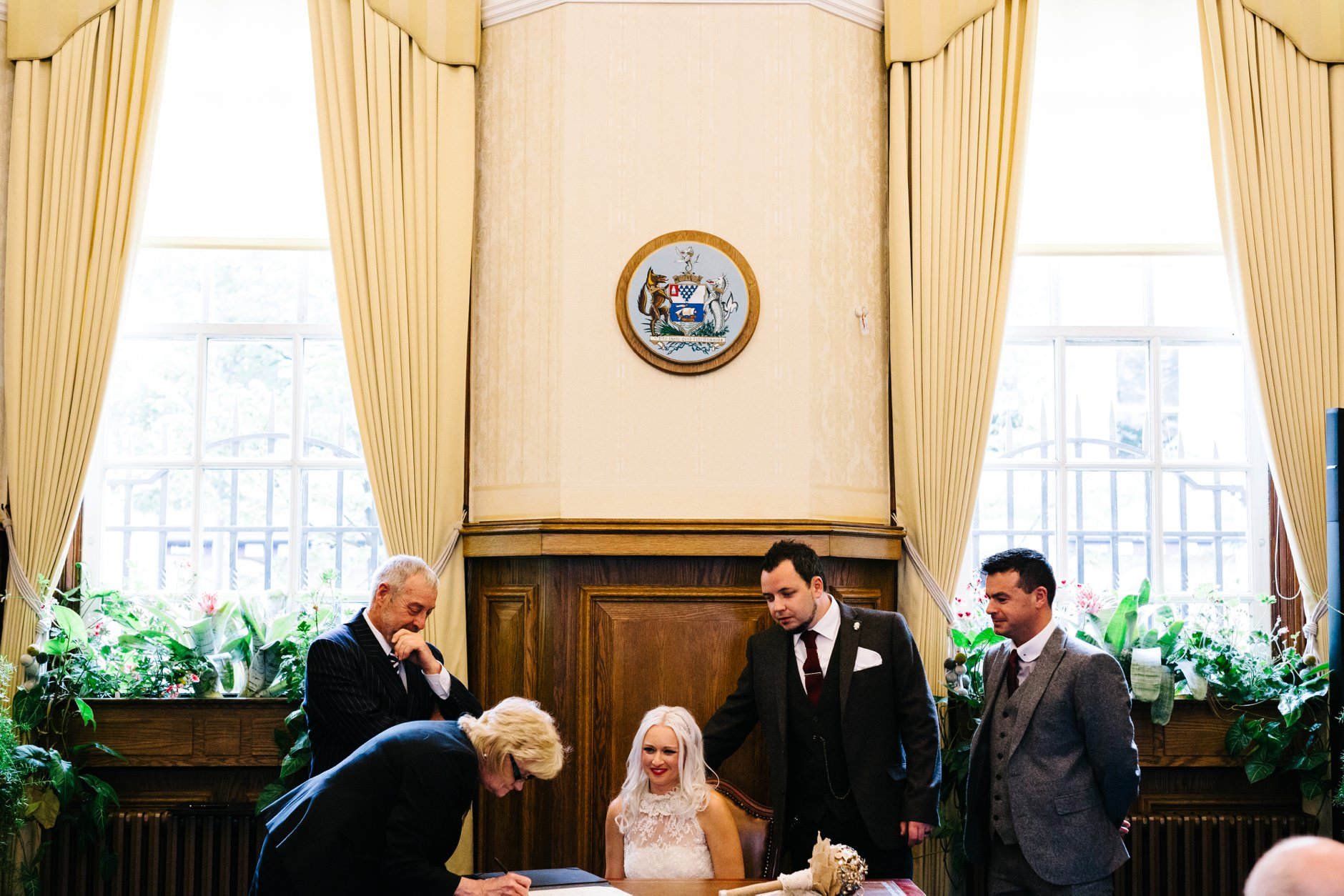 alternative wedding photographer northern ireland