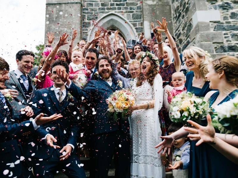 confetti wedding photographer northern ireland