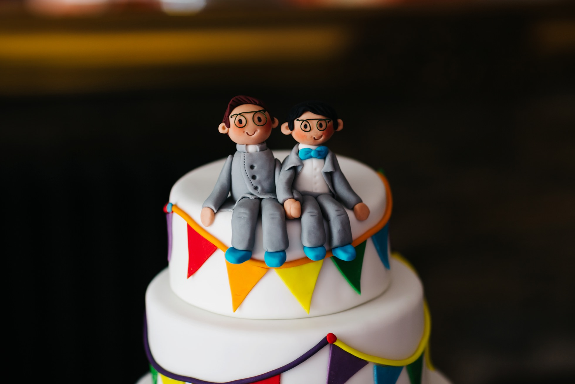 same sex wedding photography northern ireland, wedding cake