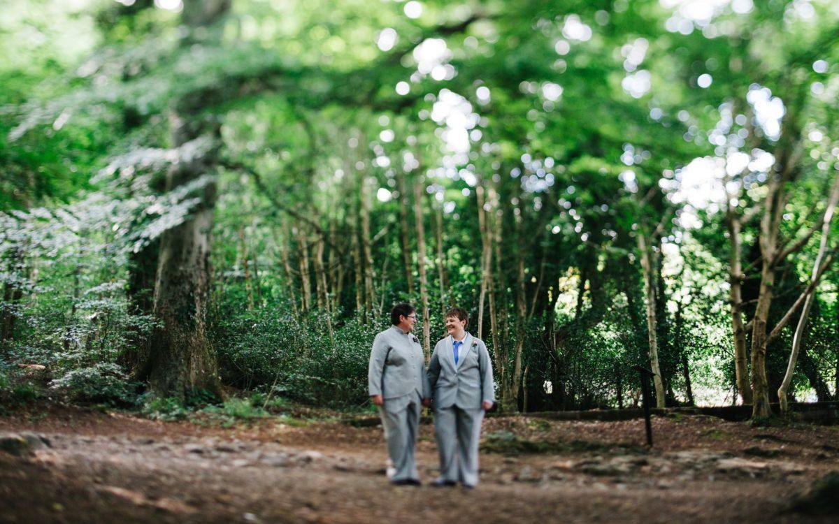 Wedding Photography Northern Ireland | Elise and Krissie | Hugh McCann's Newcastle Outdoor Ceremony