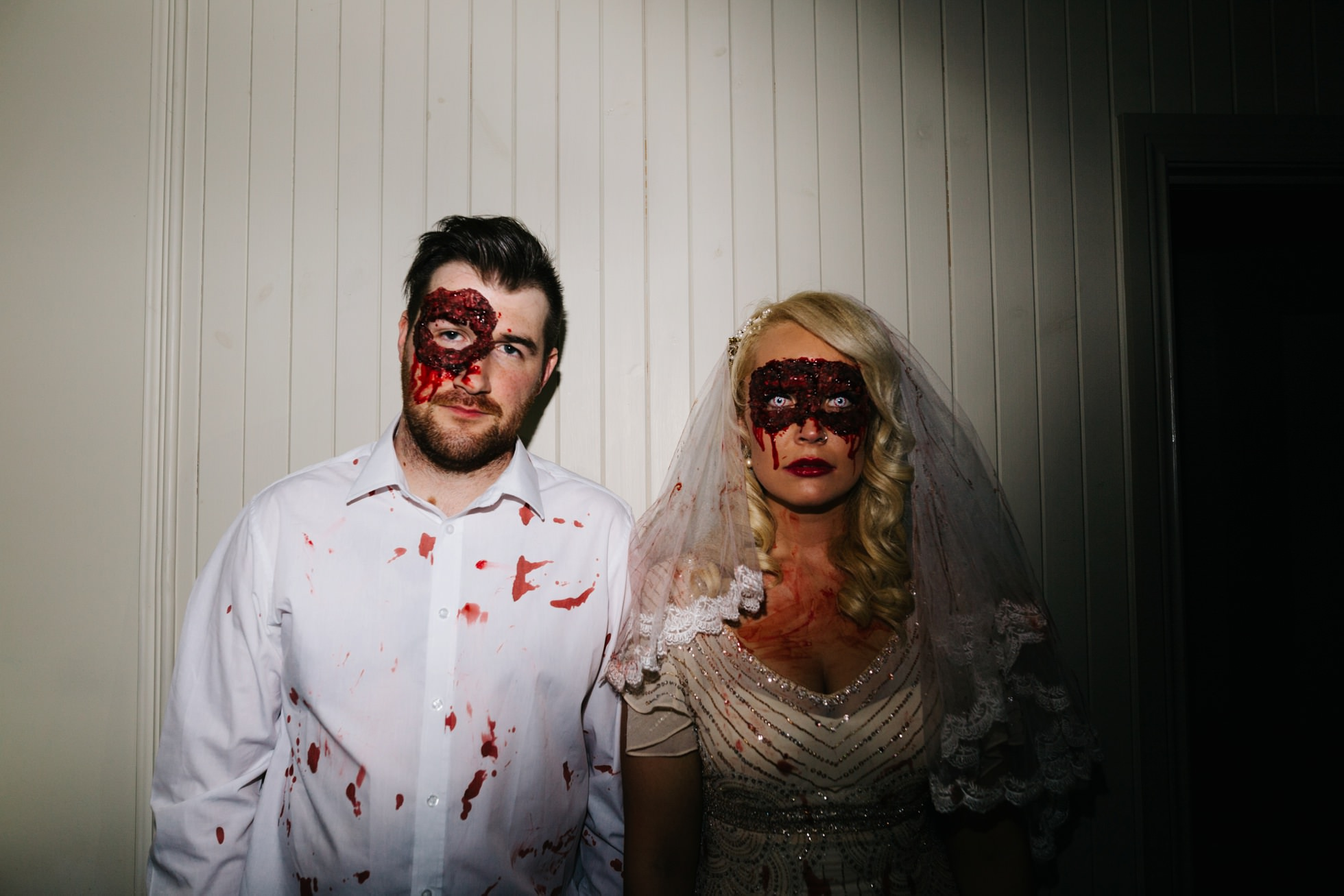 halloween wedding photography northern ireland