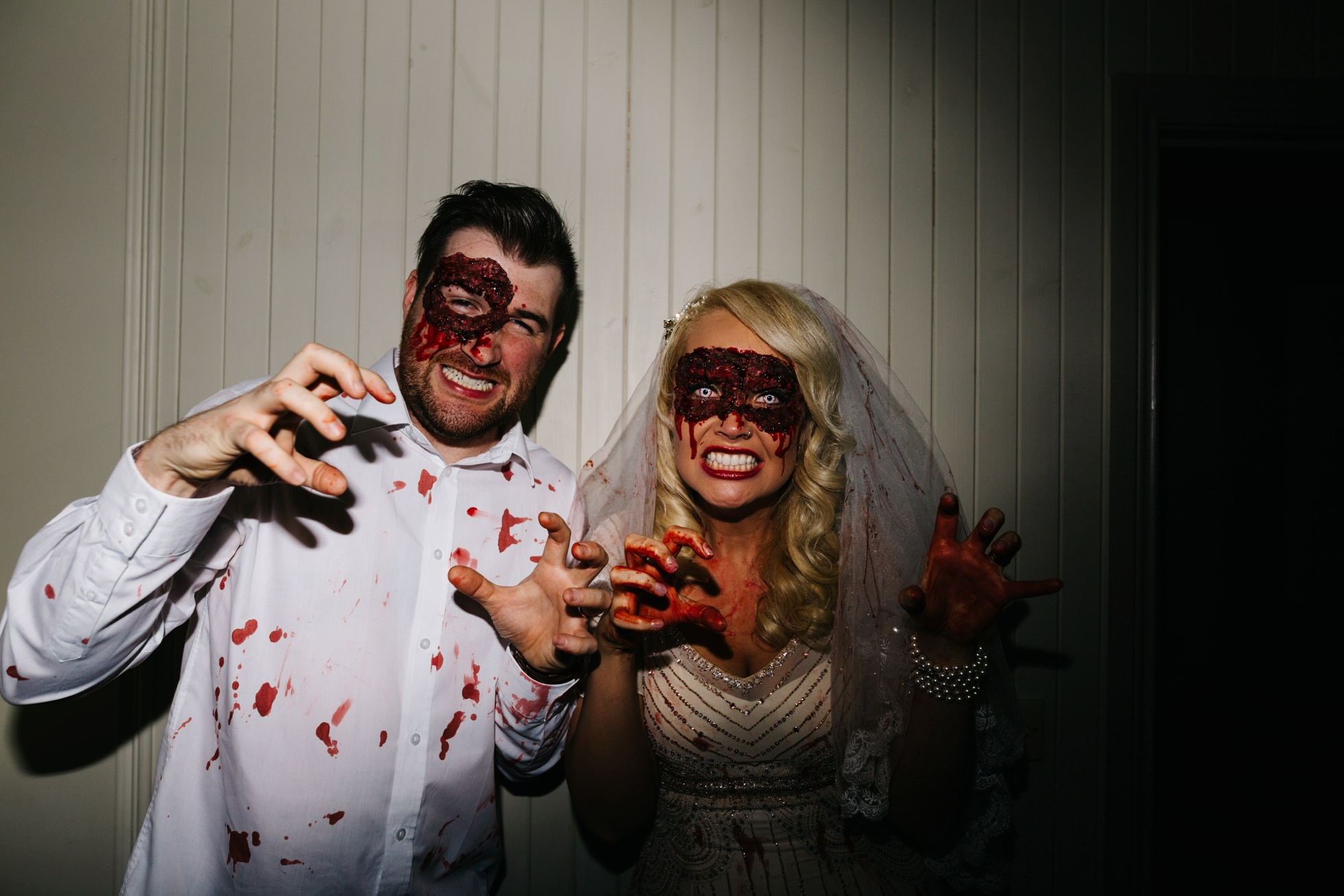 zombie wedding photography northern ireland