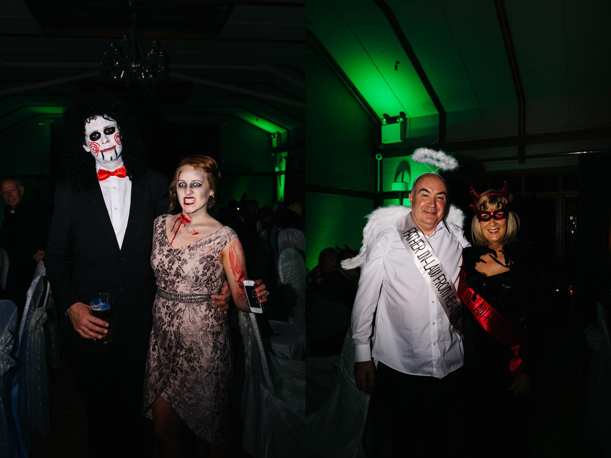 horror wedding photography northern ireland