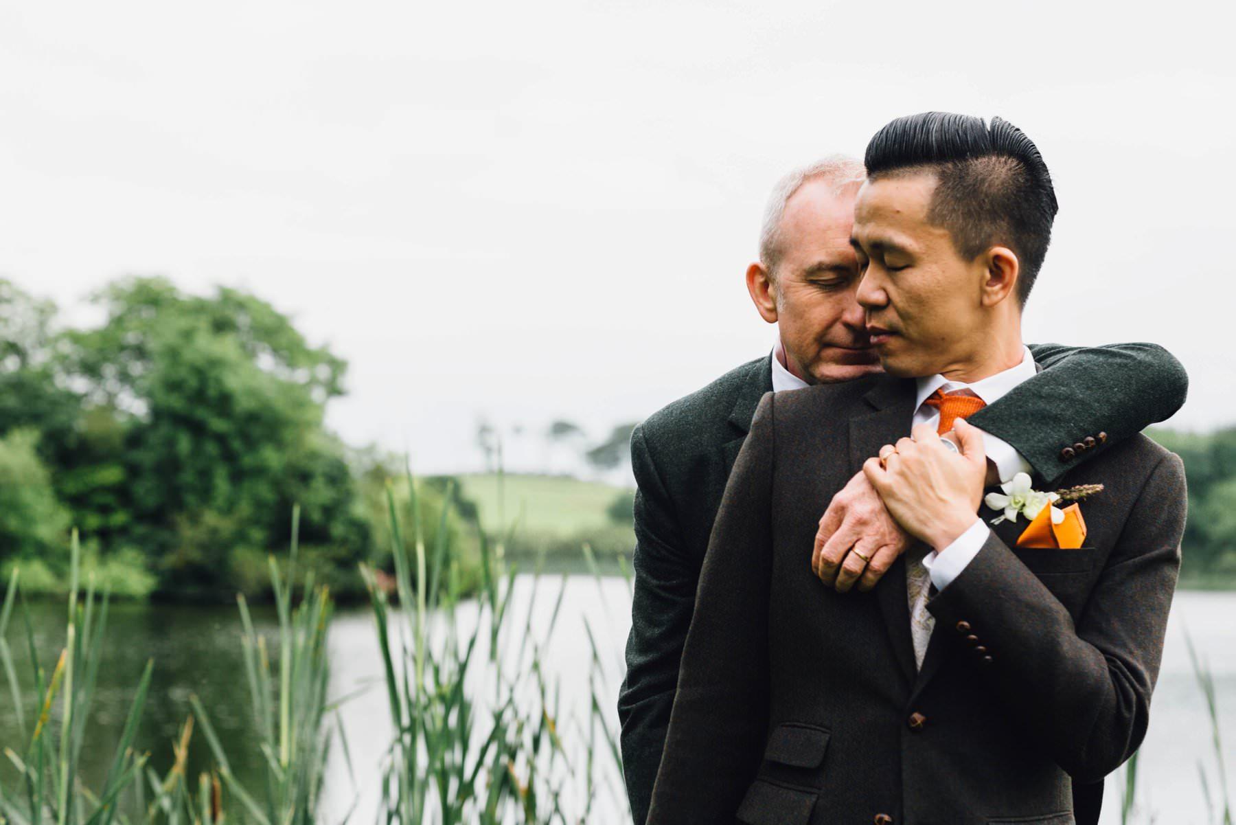 same sex destination wedding photography ireland
