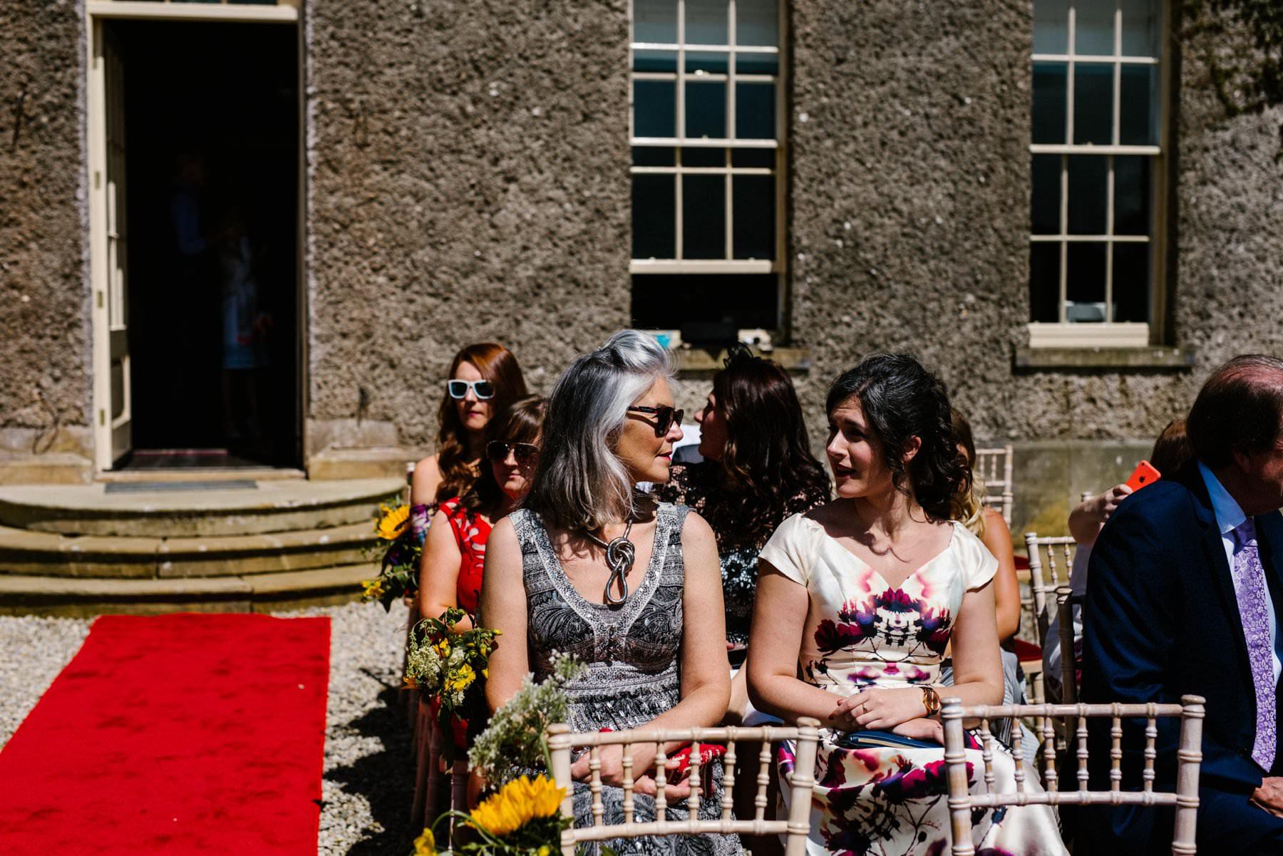 guests at wedding photography ireland