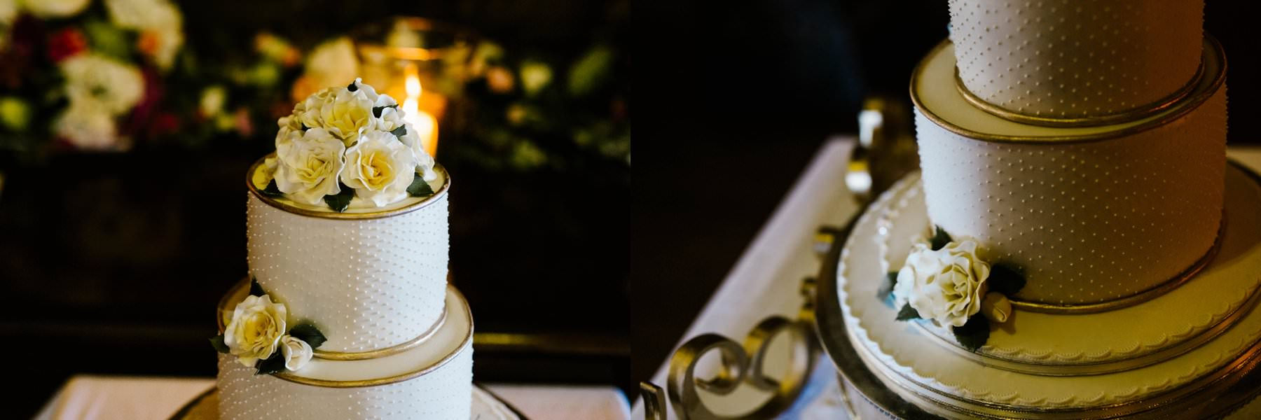 wedding cake castle leslie wedding photographer ireland