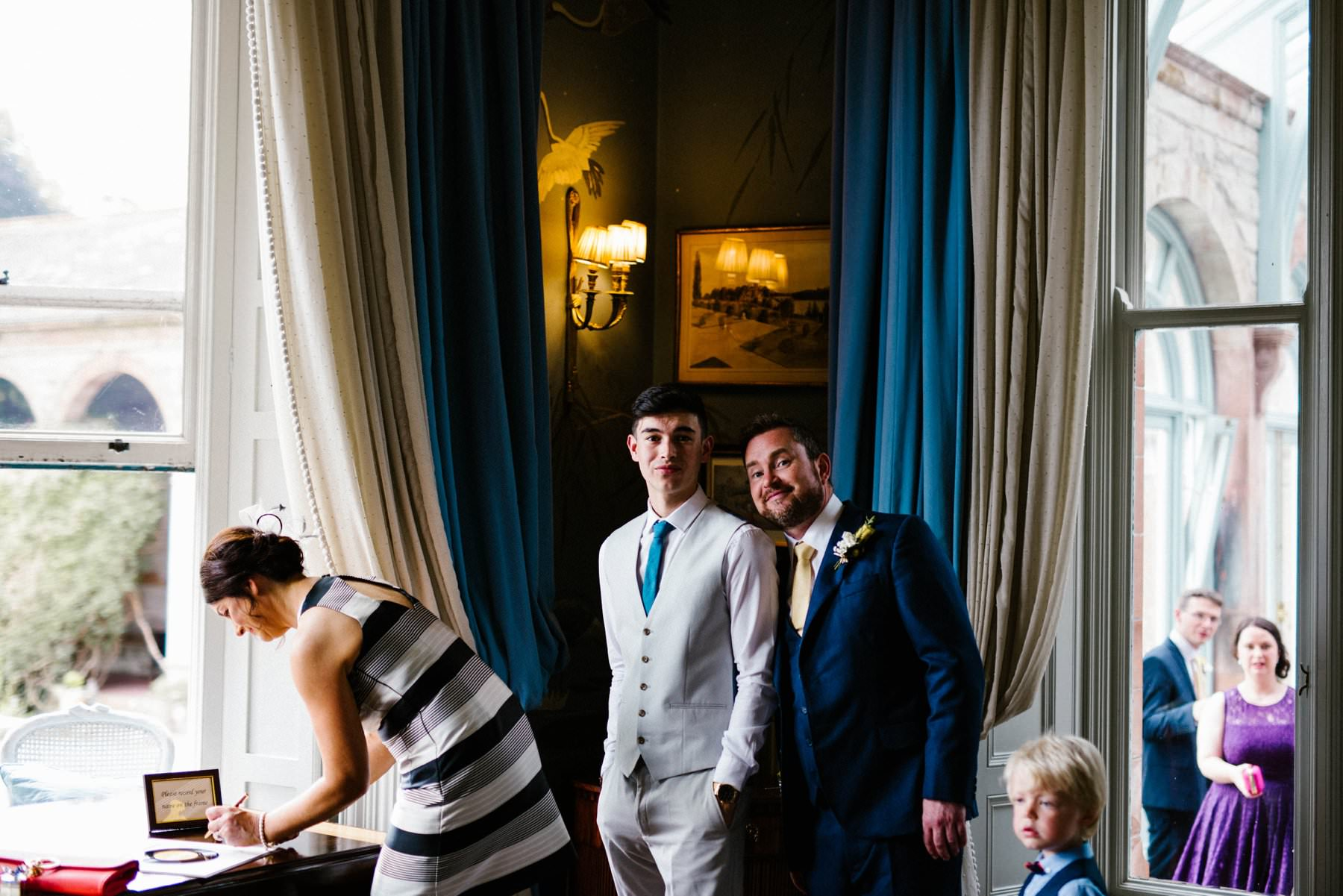 castle leslie wedding photographer ireland