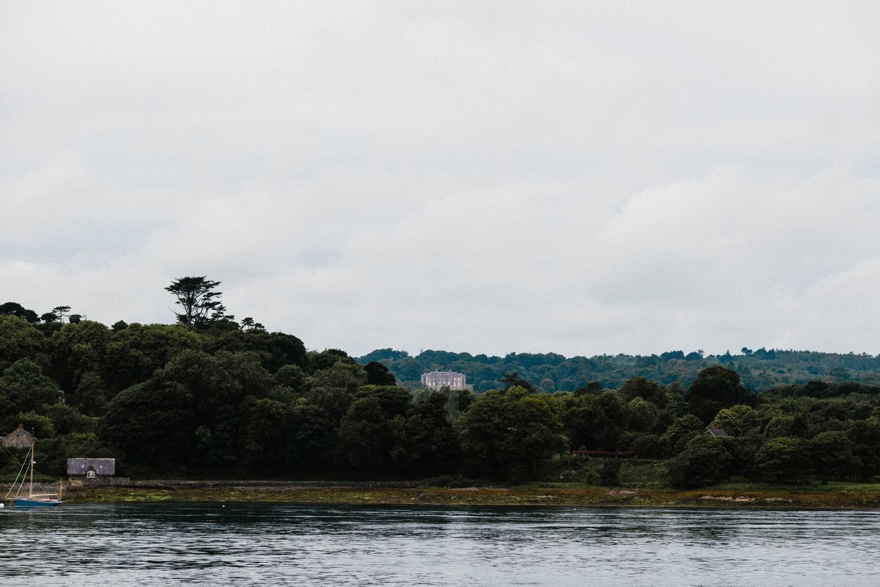landscape of Castle Ward Northern Ireland