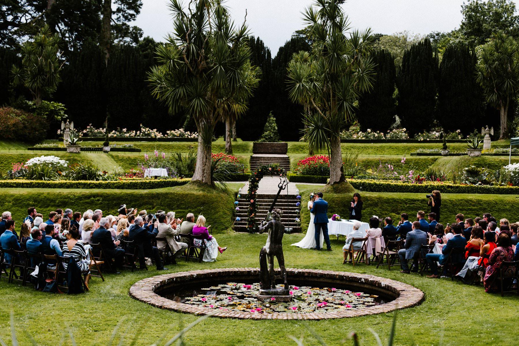 awesome castle ward wedding