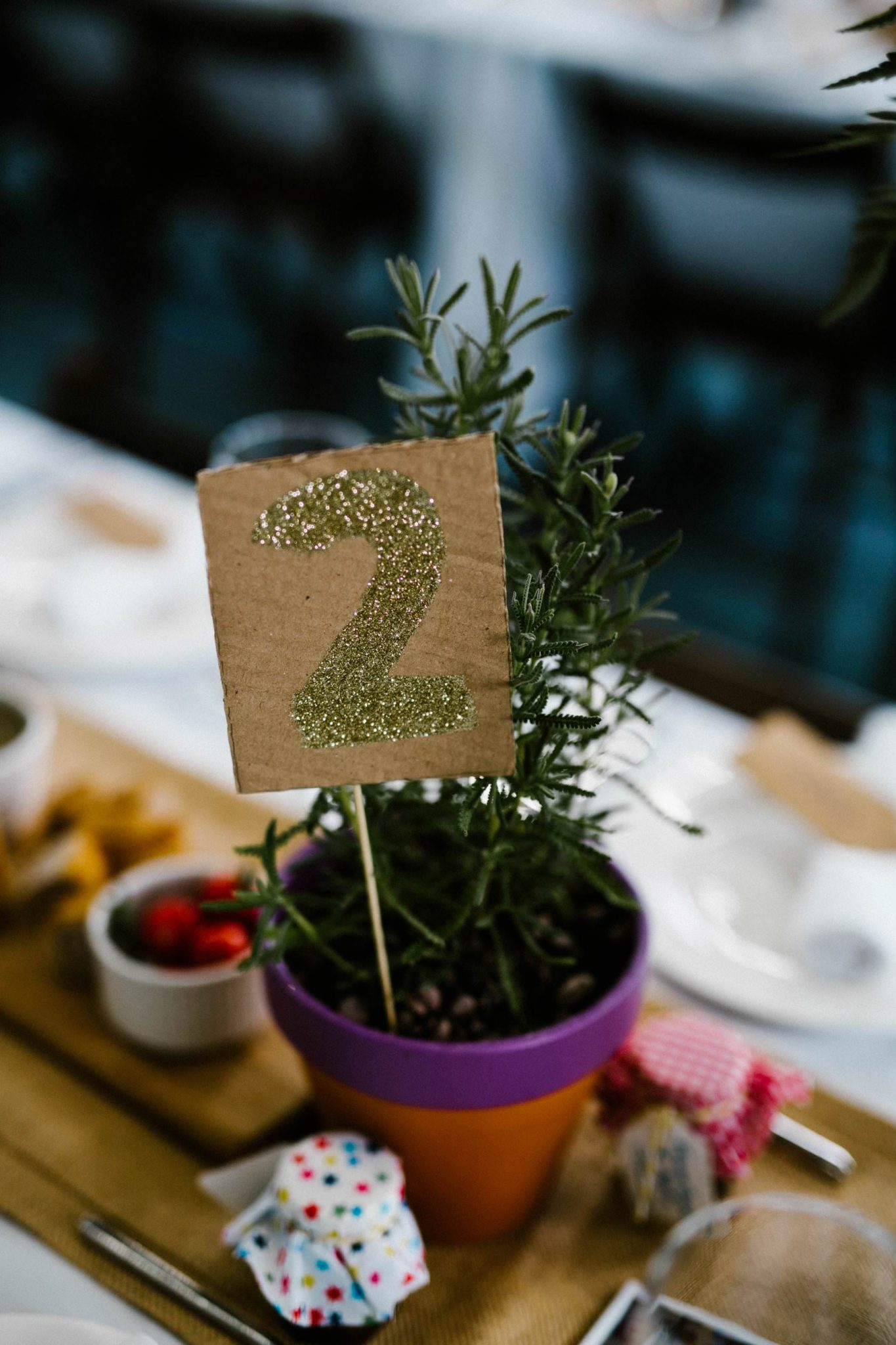 unique table number for wedding photographer northern ireland