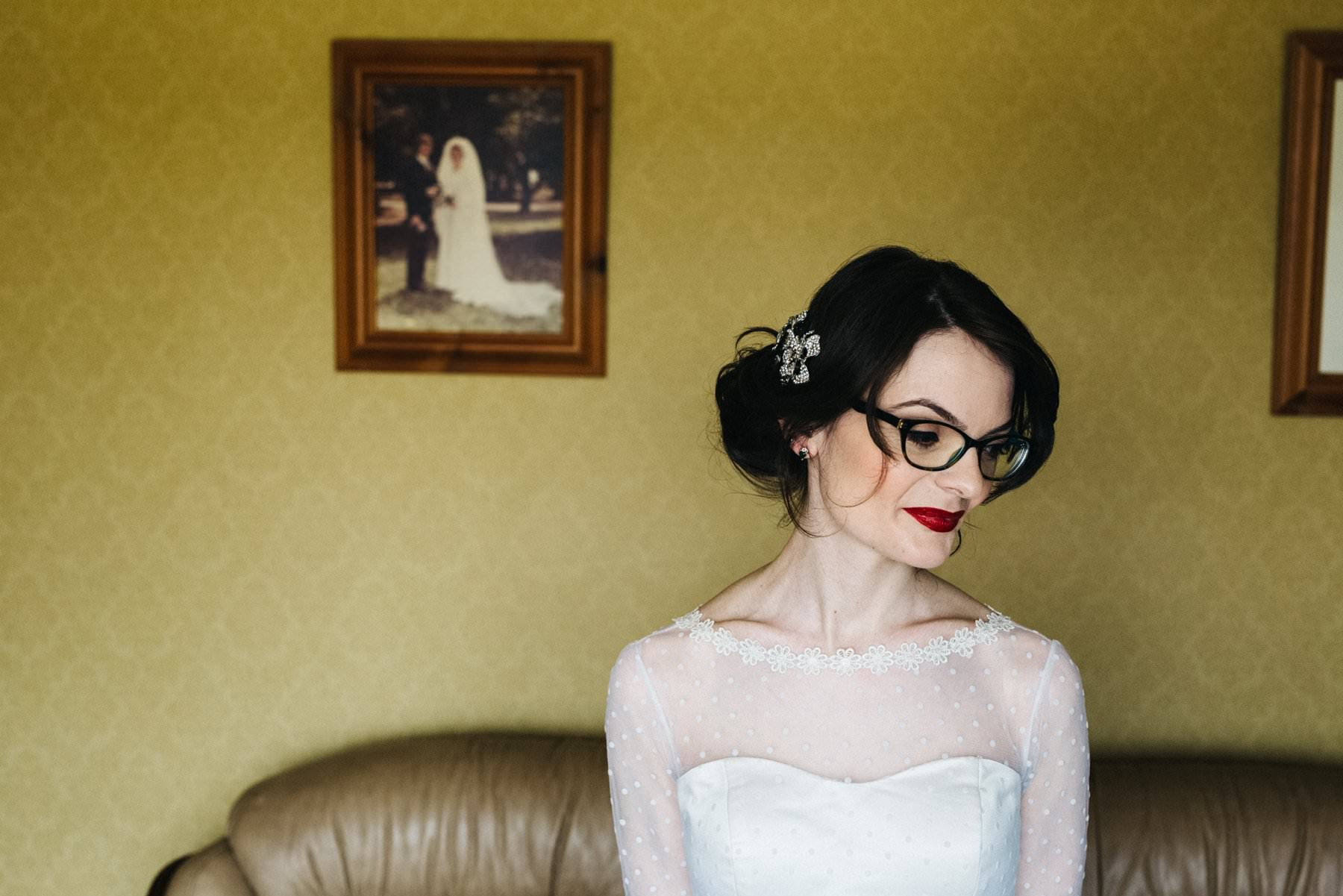portrait of a bride wedding photography northern ireland