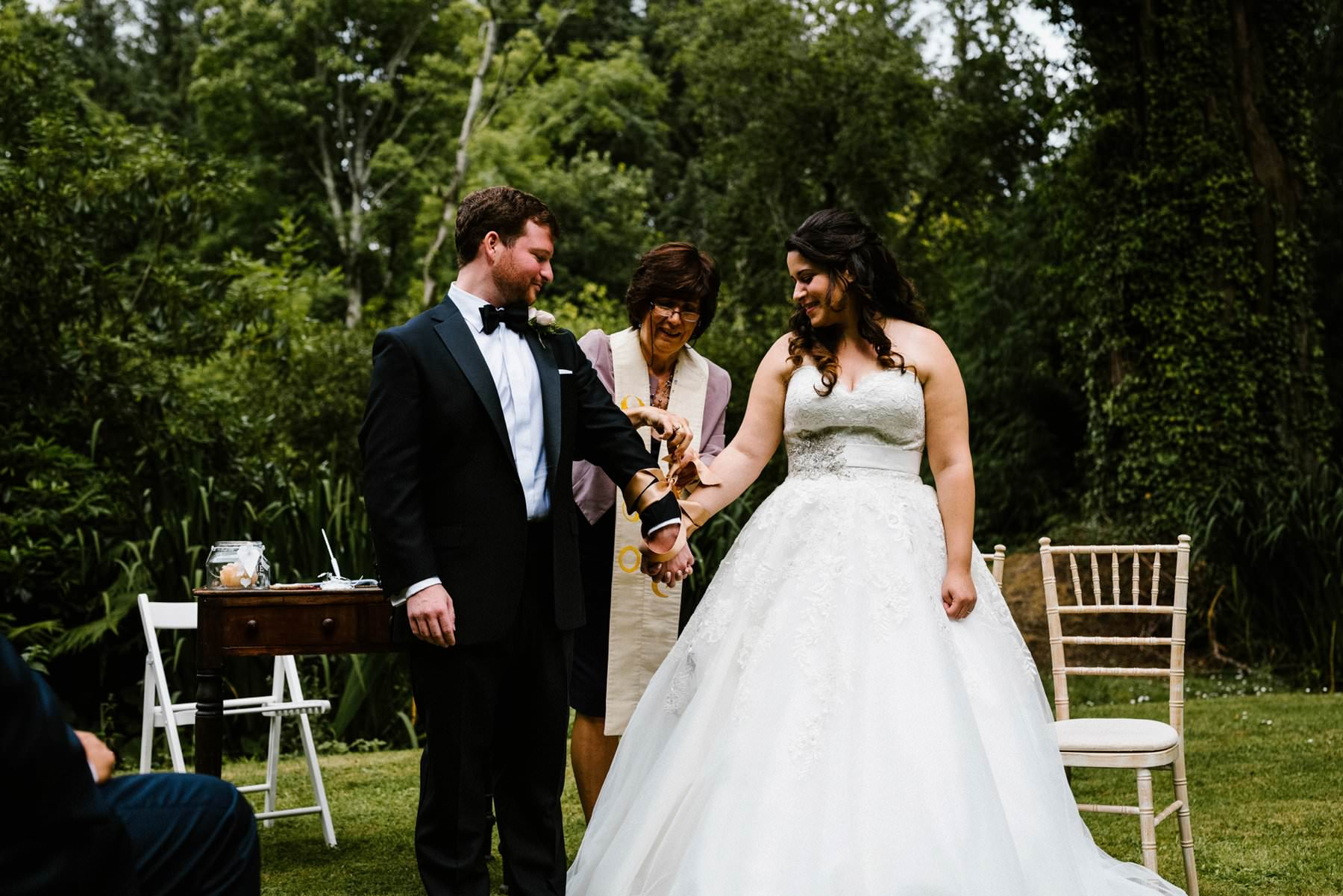 destination wedding at trudder lodge ireland