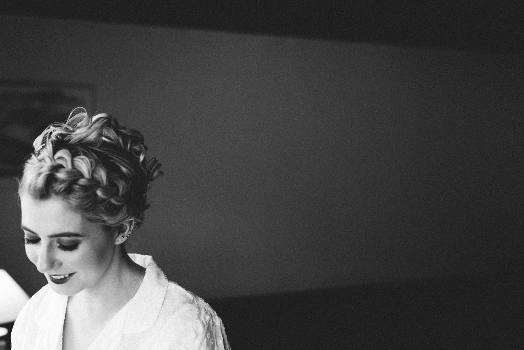bridal portrait lgbt wedding photographer northern ireland