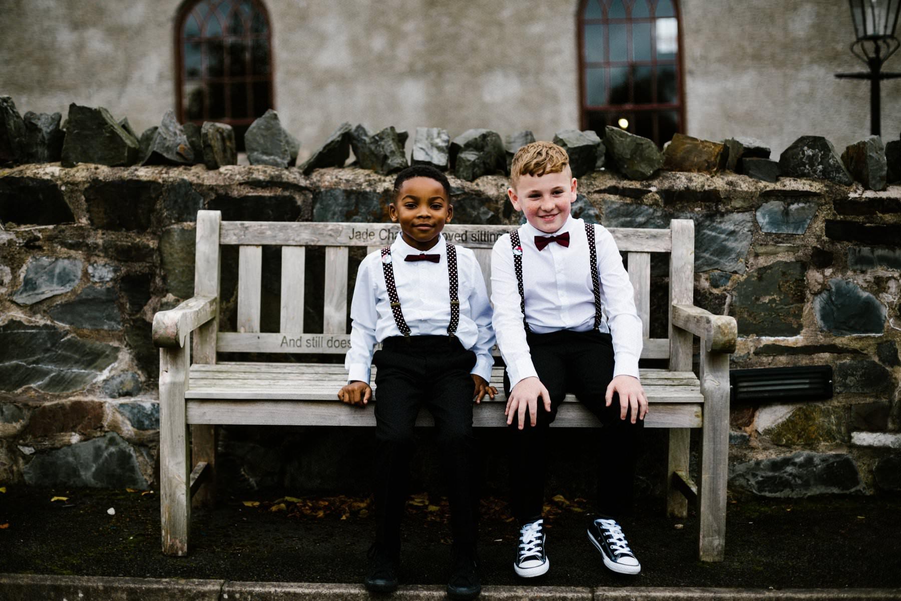 page boys wedding photography northern ireland