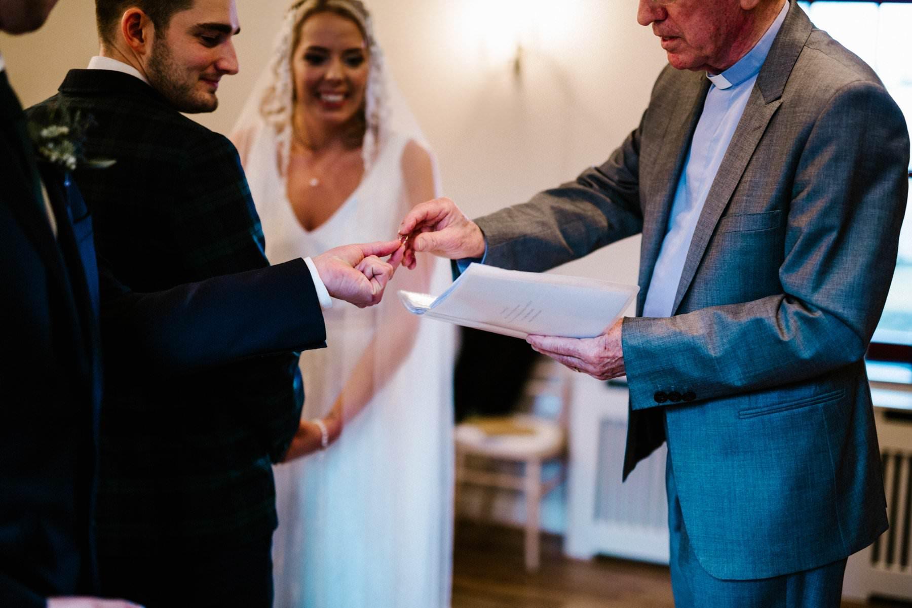 the ring exchange wedding photography northern ireland