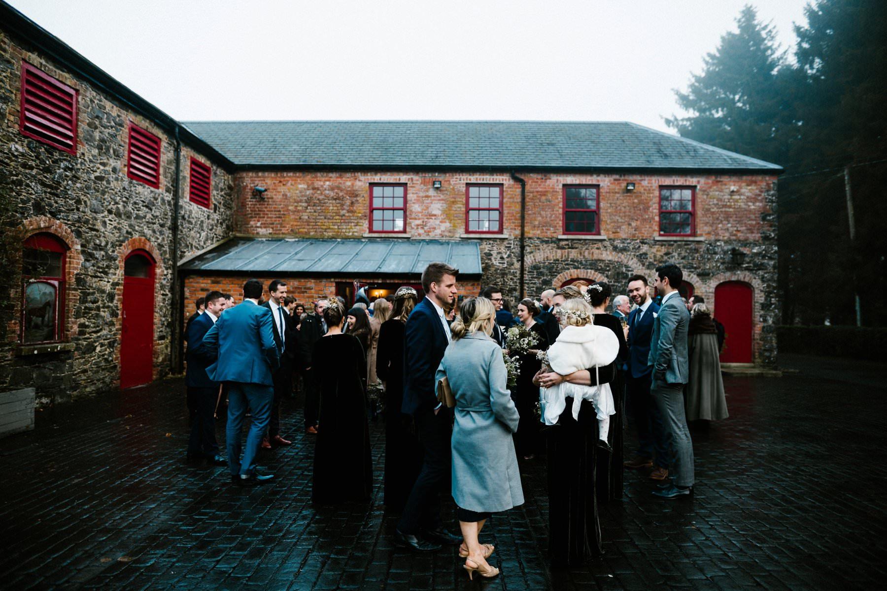 winter wedding photography ireland