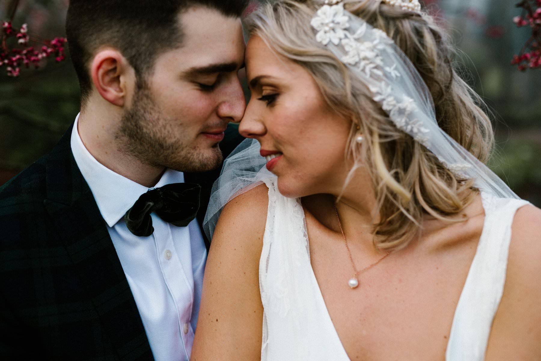 intimate wedding portraits in northern ireland