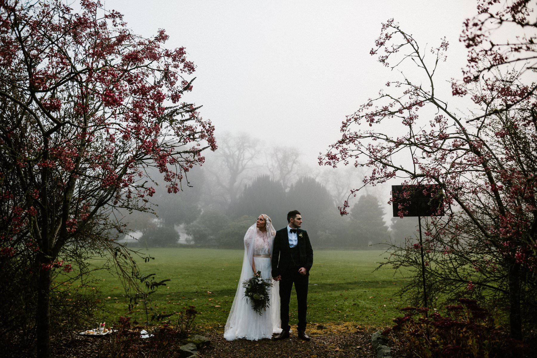 winter wedding photography northern ireland