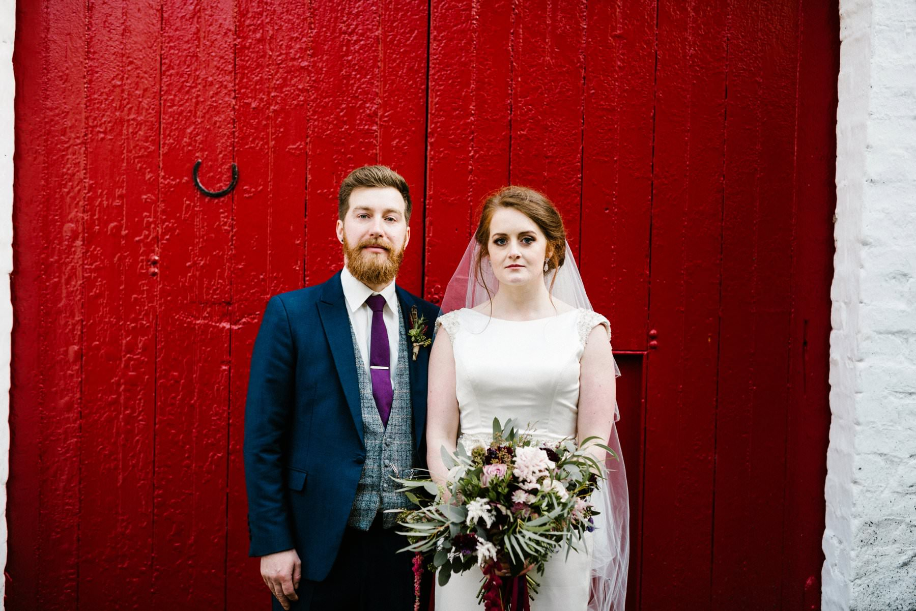 bride and groom portraits northern ireland