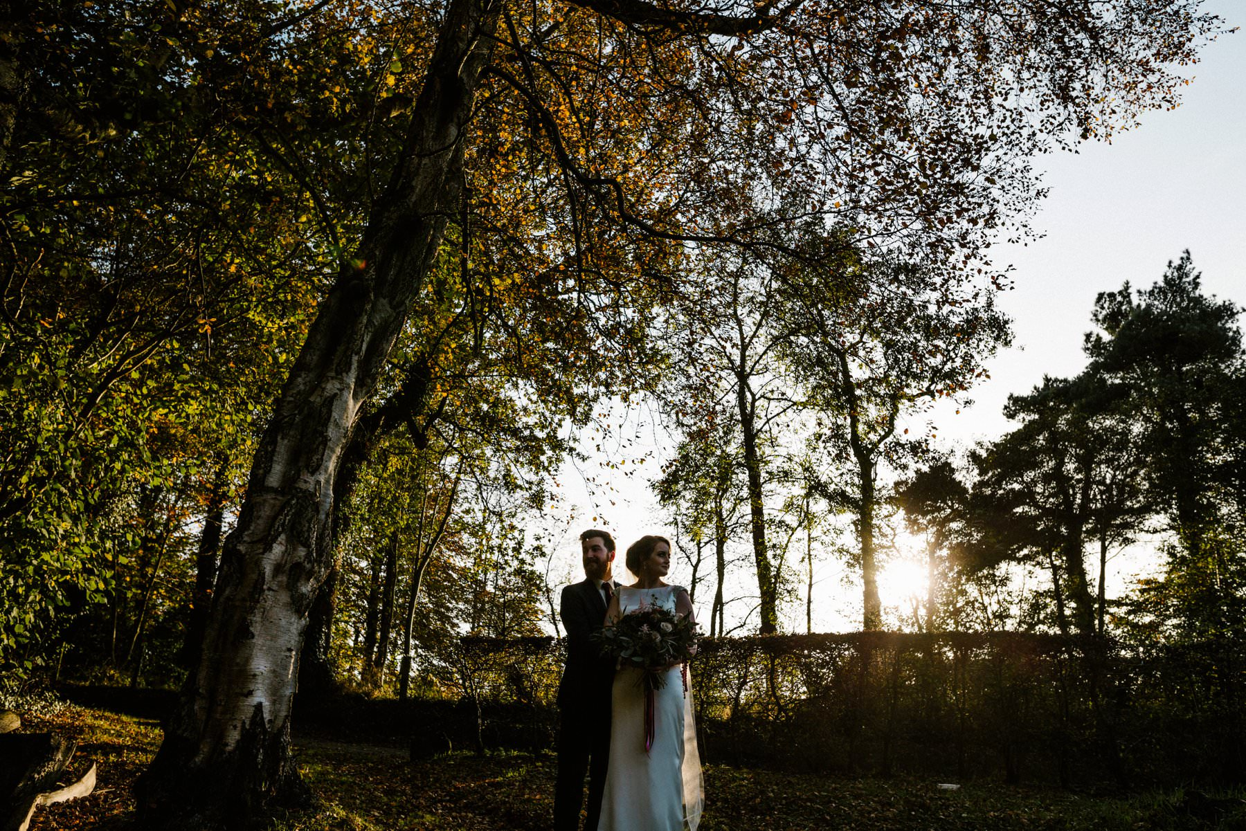 autumn wedding northern ireland wedding photography