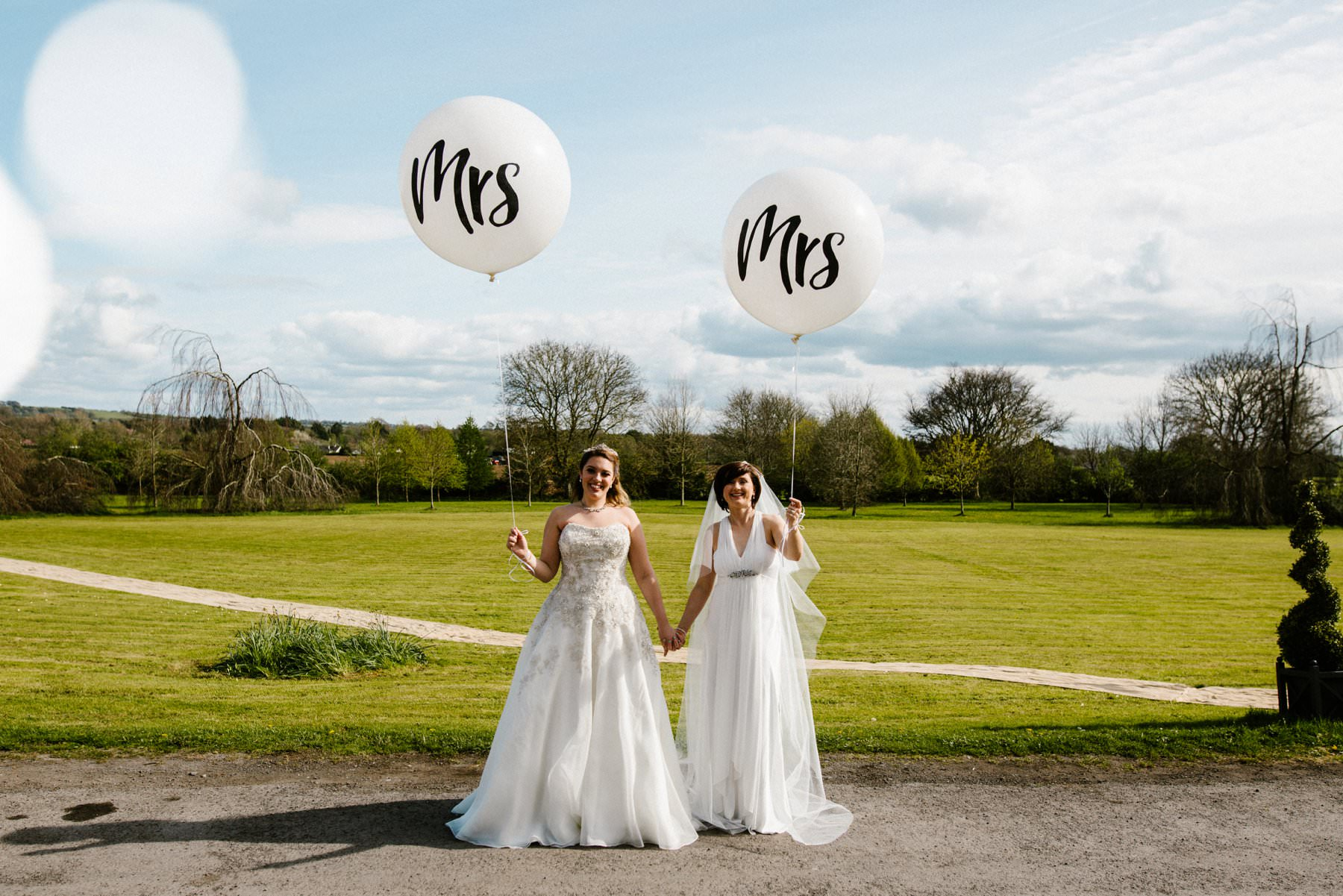 cute lesbian wedding photographer ireland