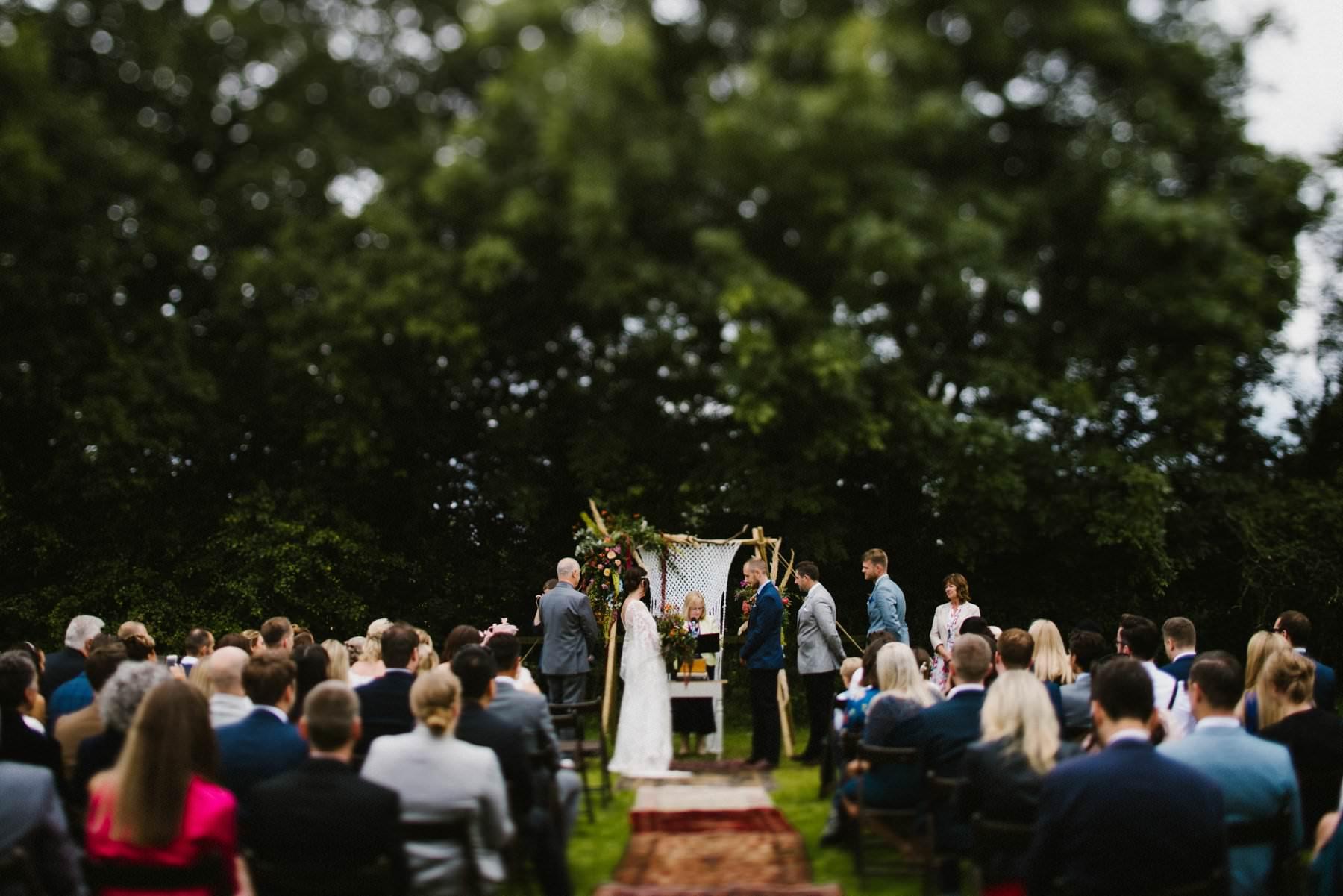 amazing outdoor wedding ceremony wedding photography