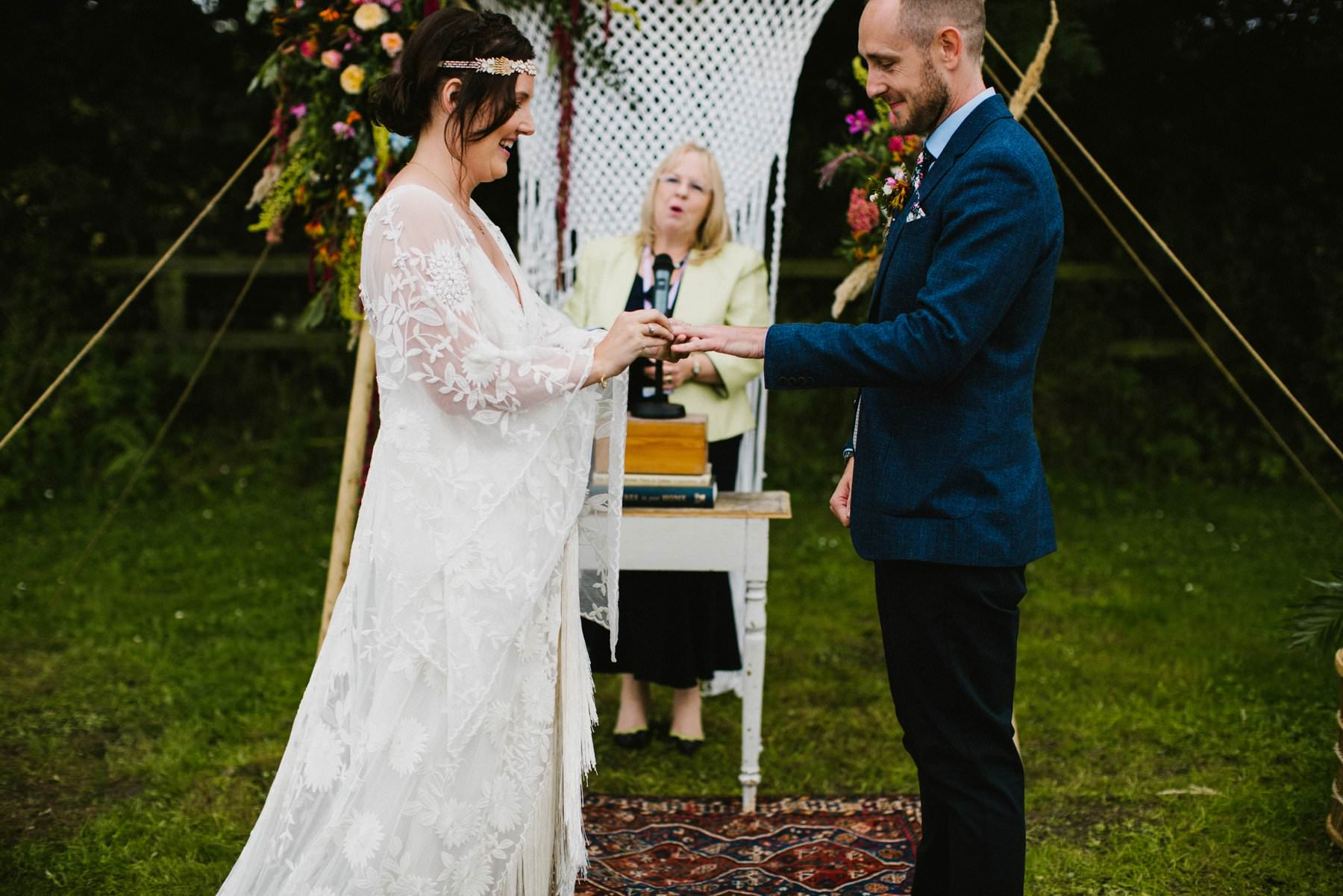 civil outdoor wedding ceremony norfolk