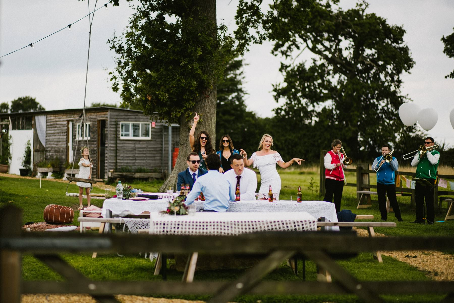 fire pit camp wedding photography norfolk