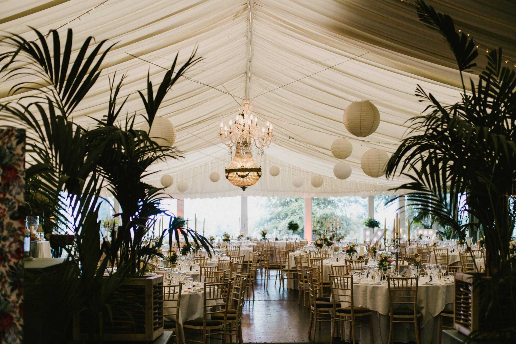 marquee of tinakilly house wedding photographer ireland