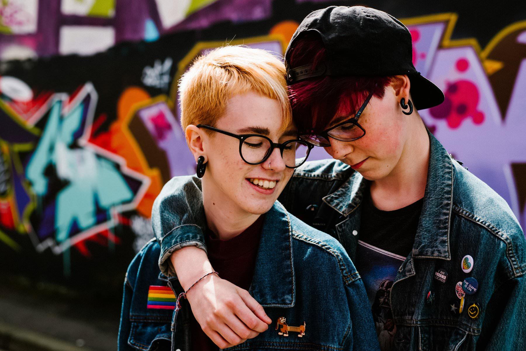 LGBT engagement photography northern ireland
