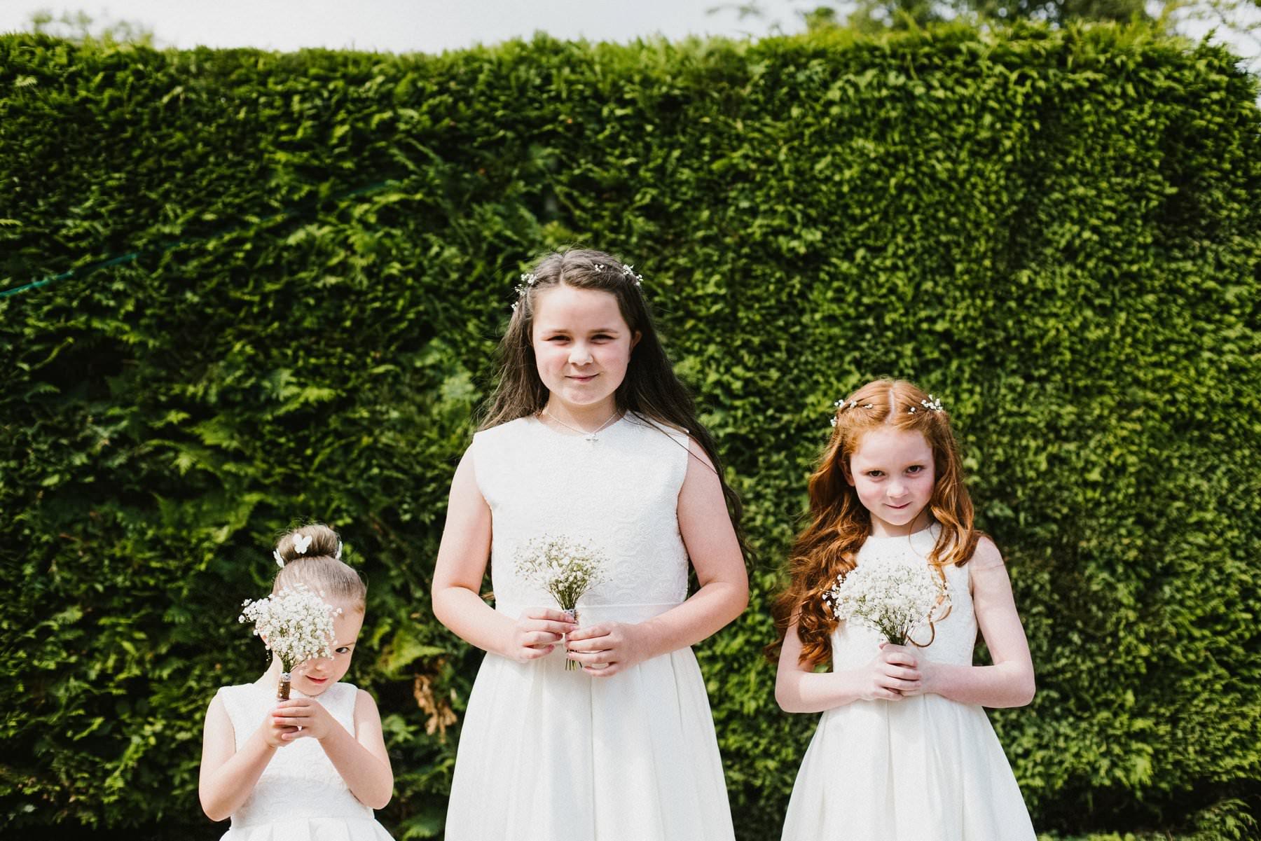 flower girls for drenagh wedding