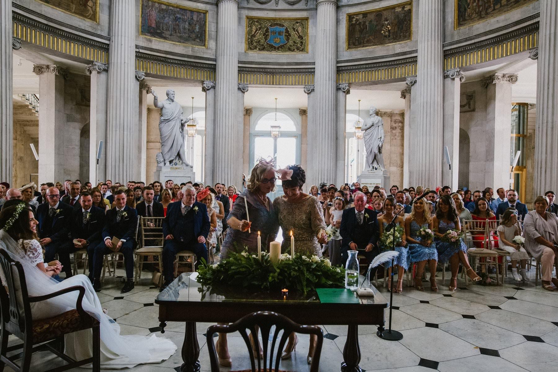Dublin city hall wedding photography