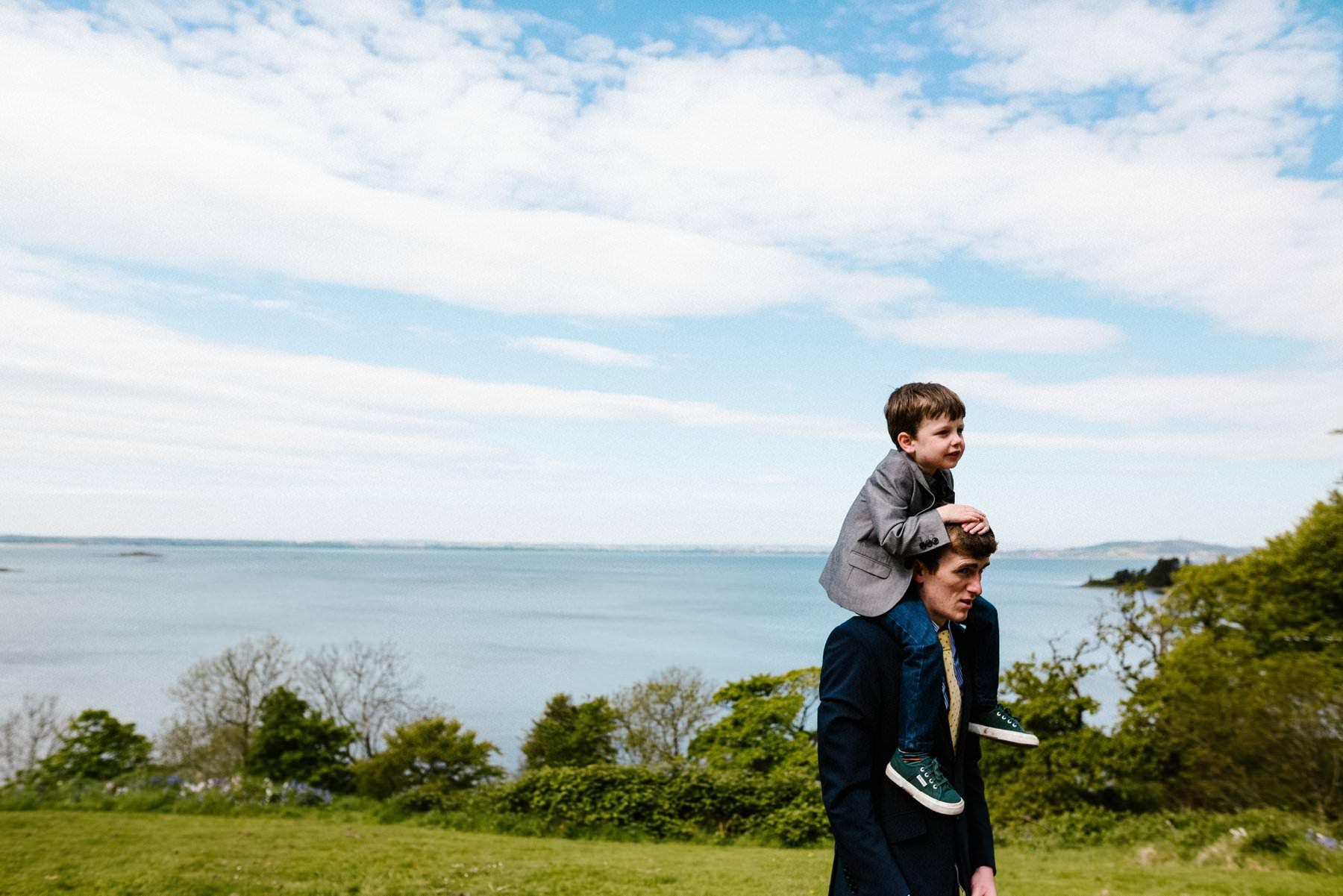 seaside wedding photography northern ireland
