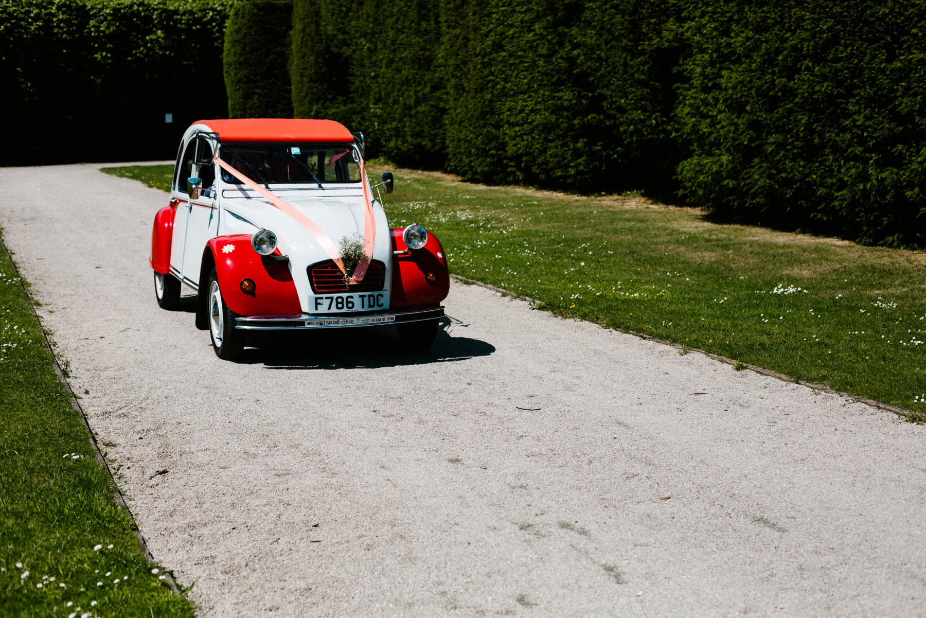 vintage vw beatle wedding photographer northern ireland