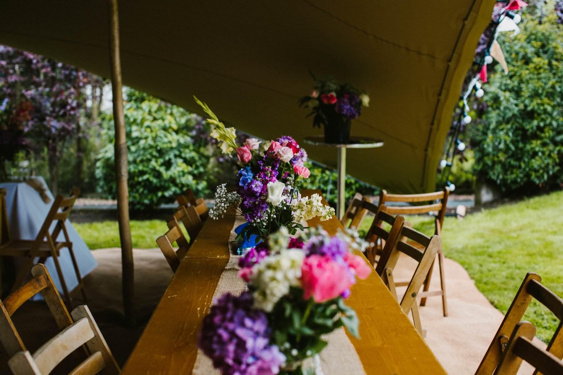tipi wedding at glenmore manor