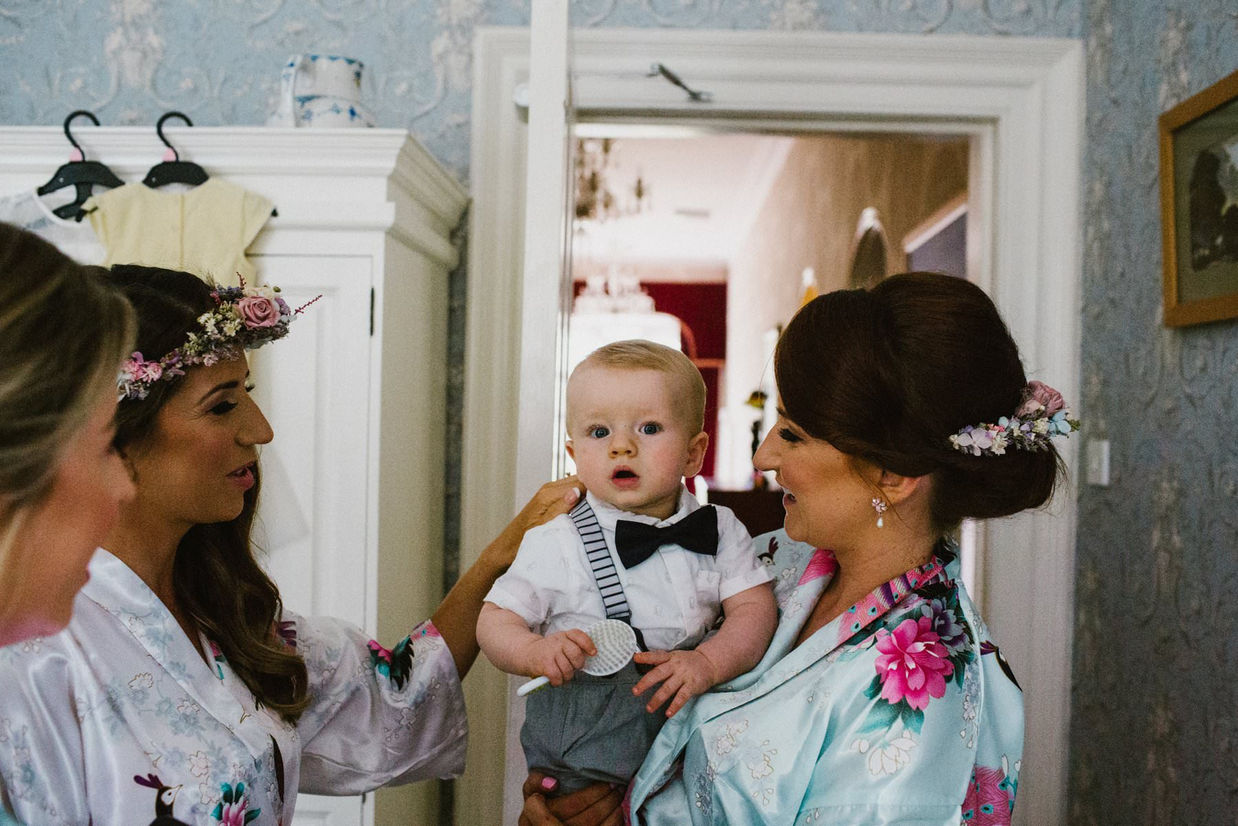 baby pageboy wedding photography northern ireland