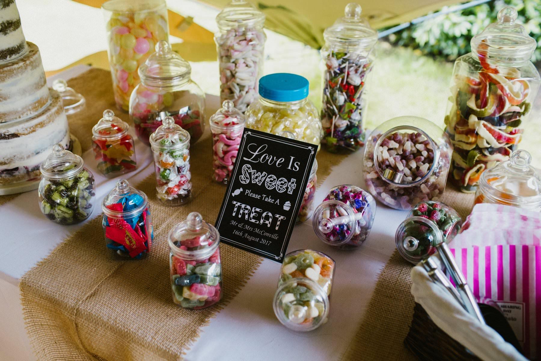 sweet table wedding photography northern ireland