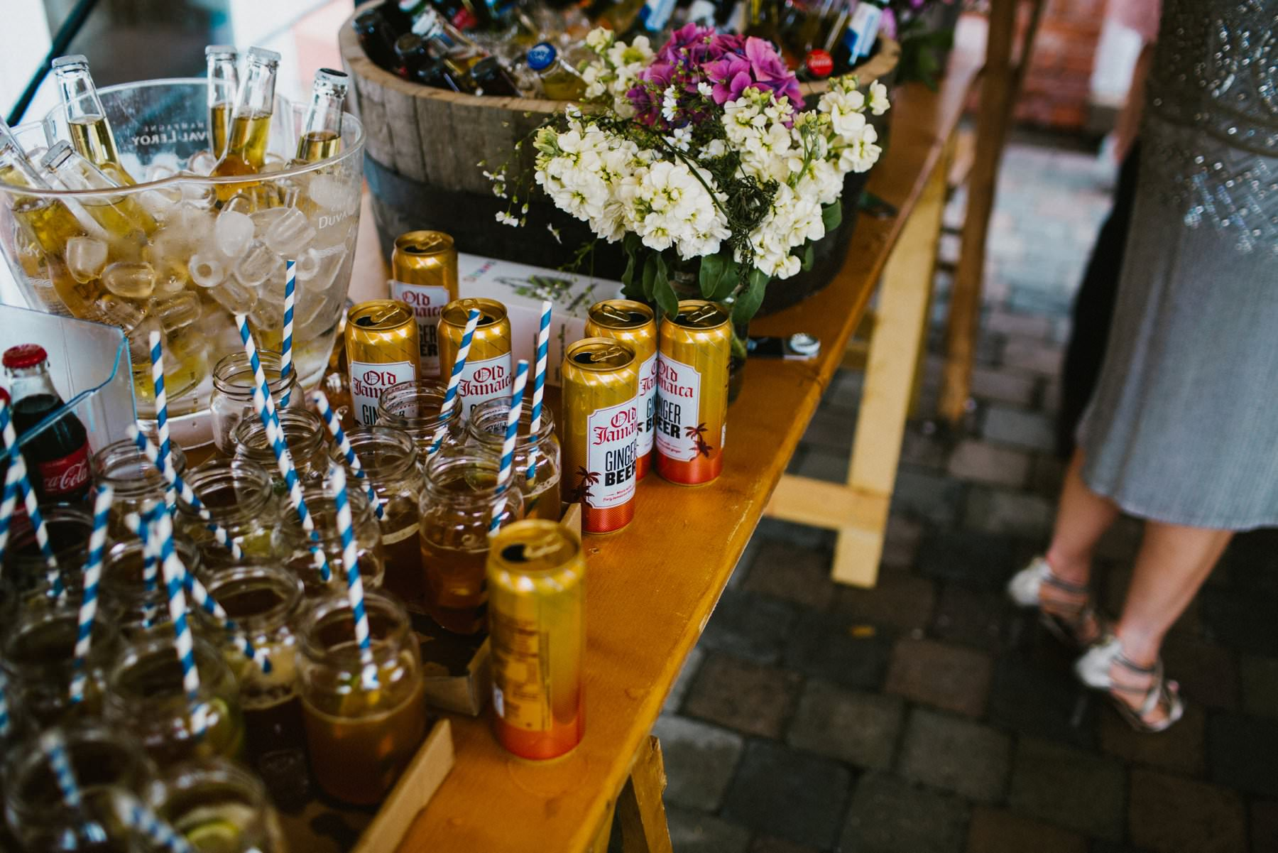 ginger beer cocktail, wedding photographer northern ireland