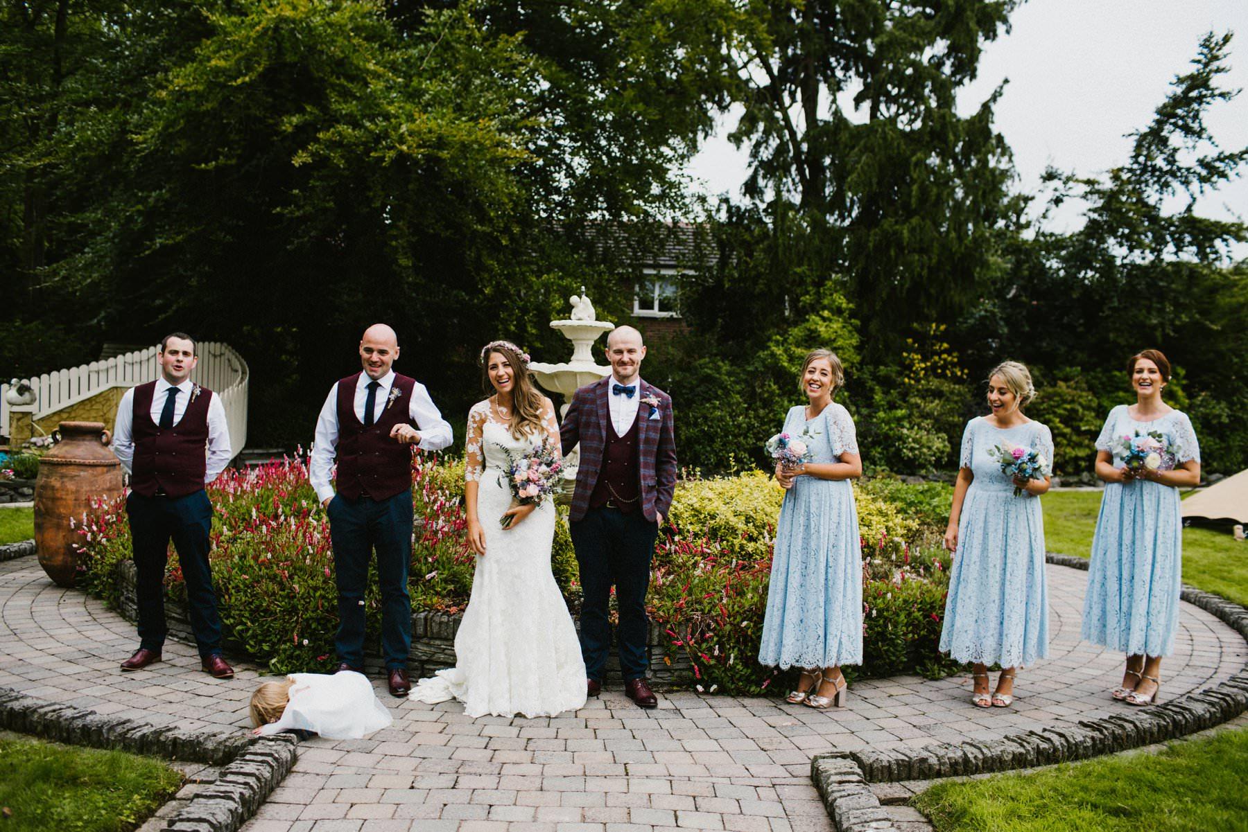 funny moment wedding photography northern ireland