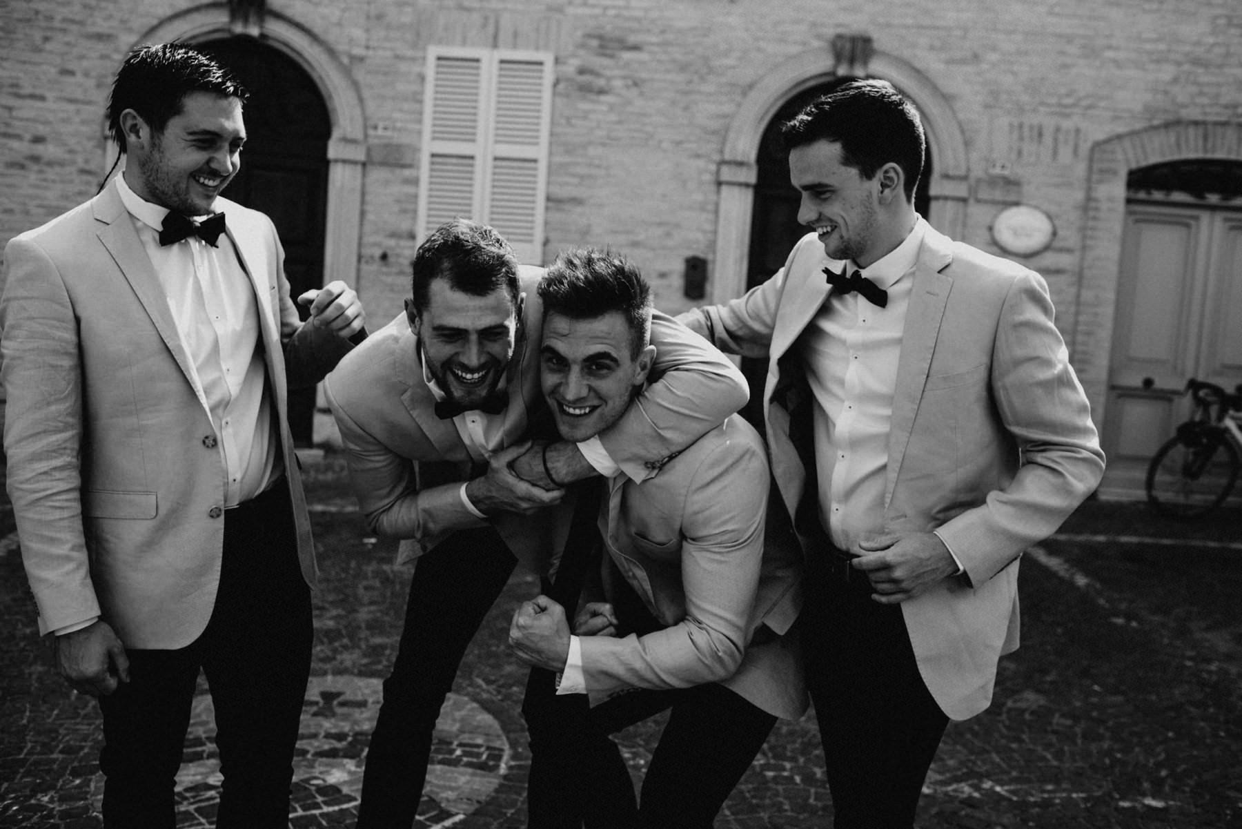 black and white italian wedding photography