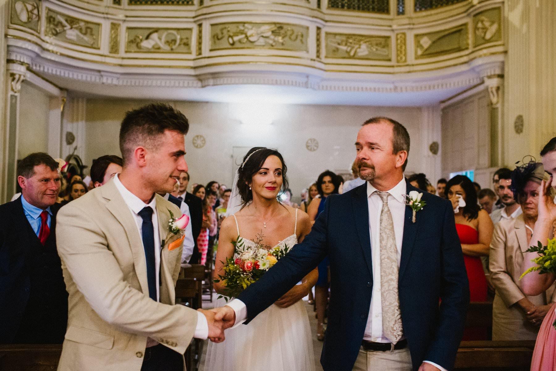 irish wedding in italy