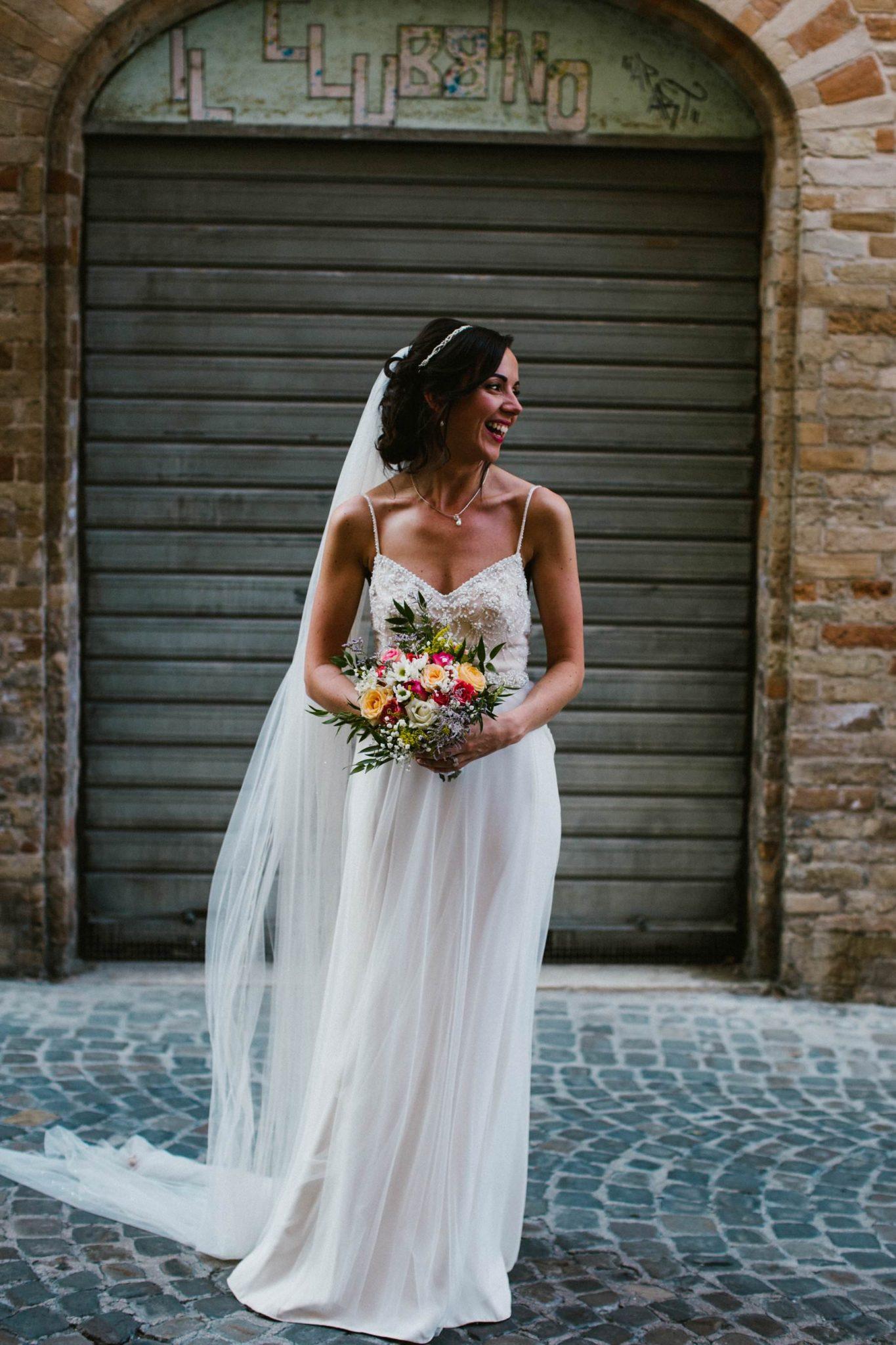 bridal portrait by irish wedding photographer italy