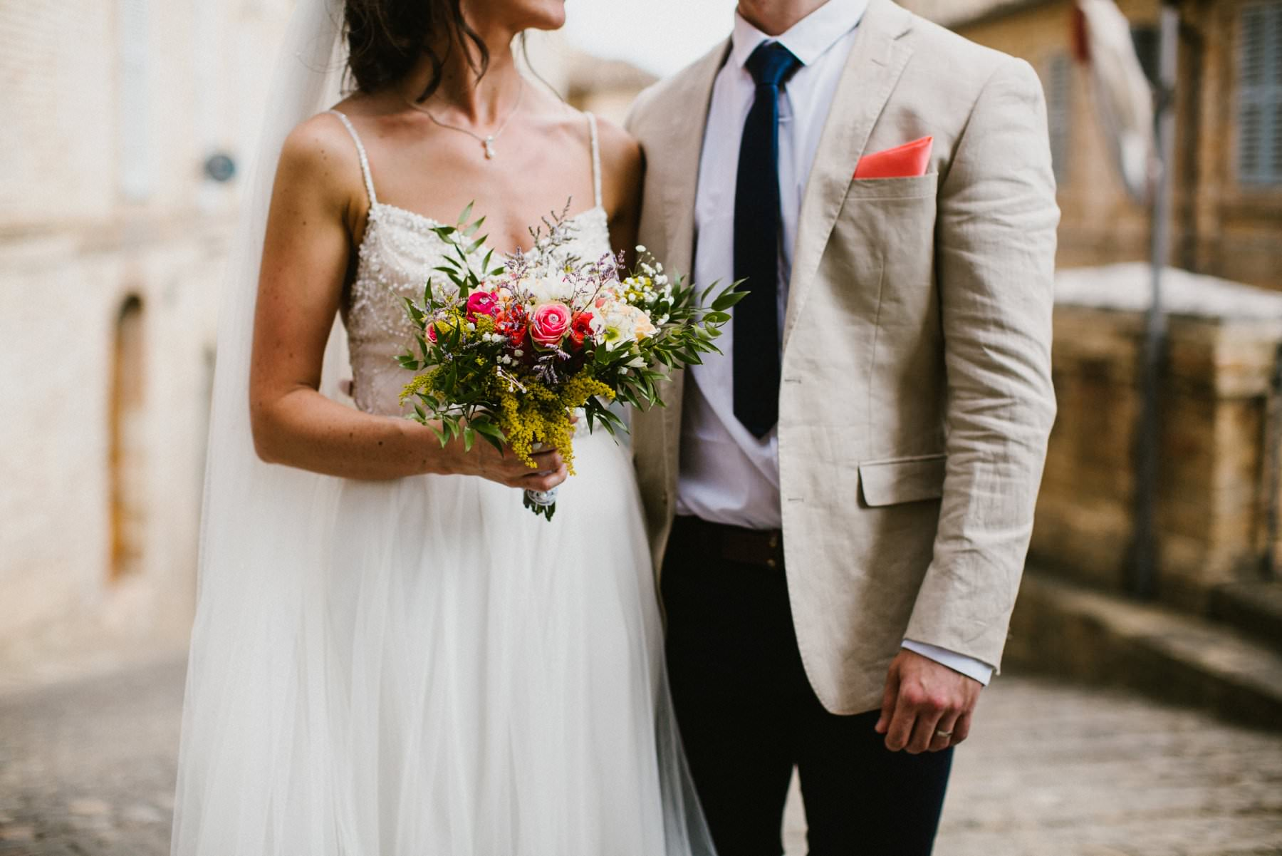 bride and groom detail portrait in petritoli italy