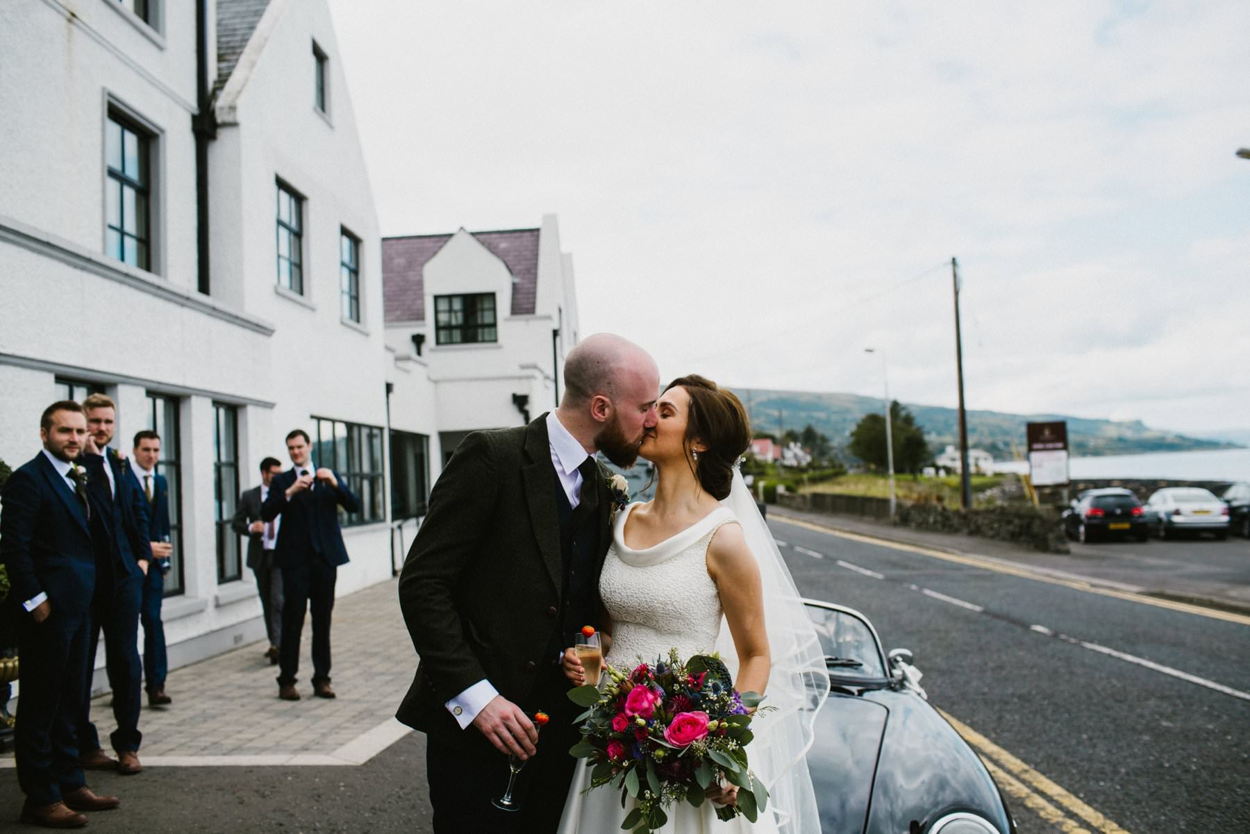 ballygalley castle wedding photographer