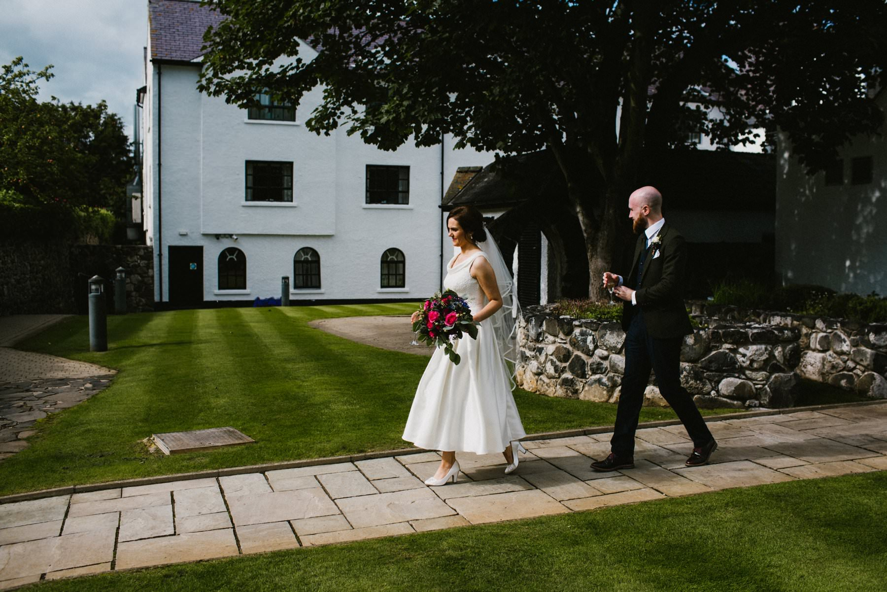 ballygally castle hotel wedding photographer
