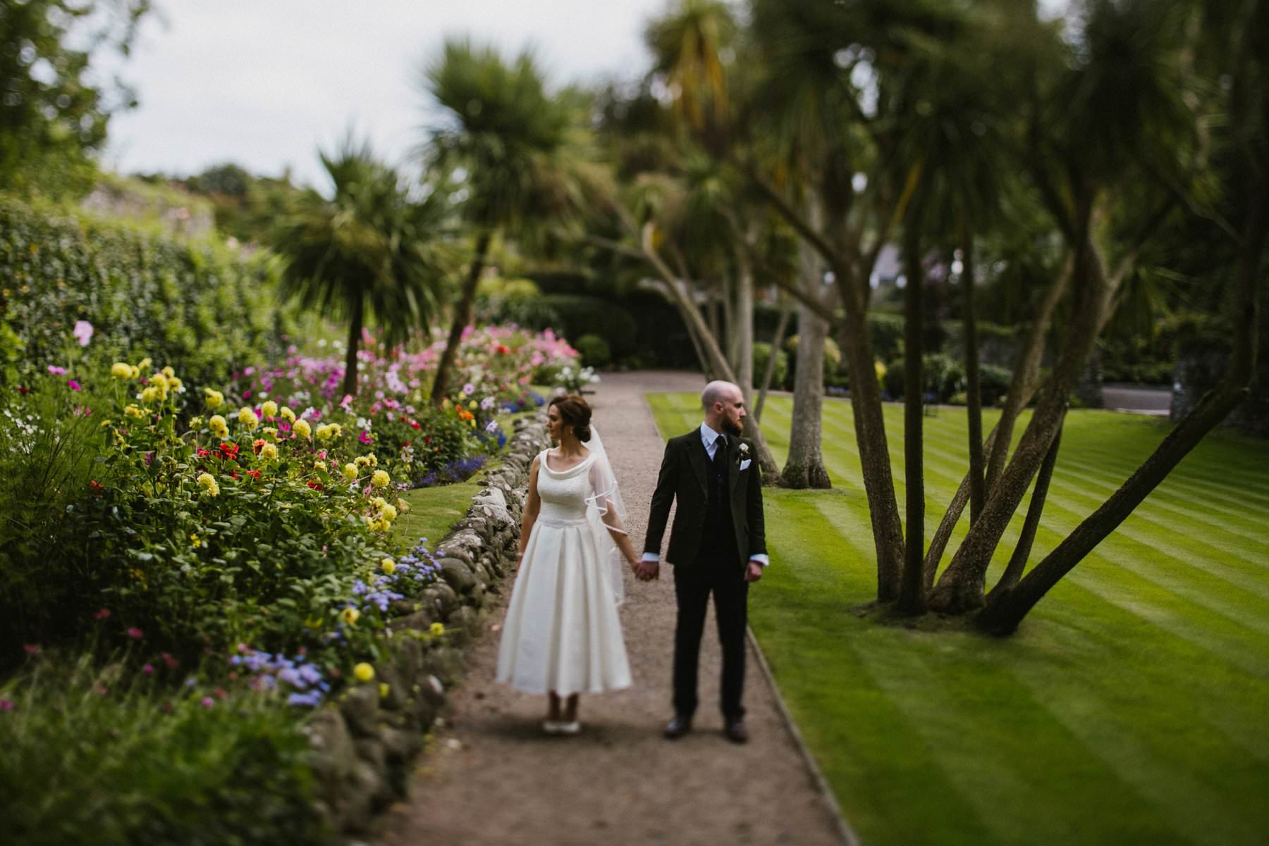 documentary wedding photography at Ballygally castle hotel northern ireland