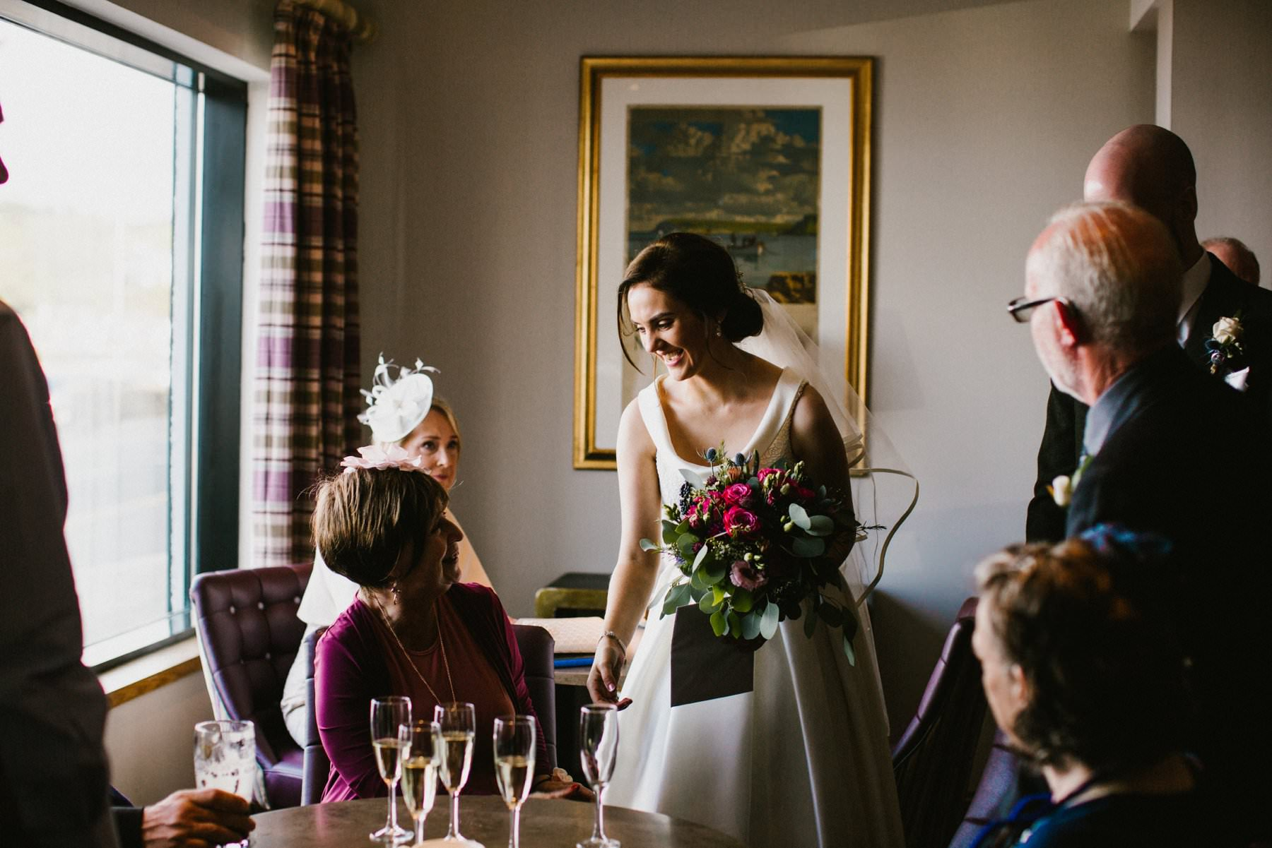 ballygally castle wedding photographer